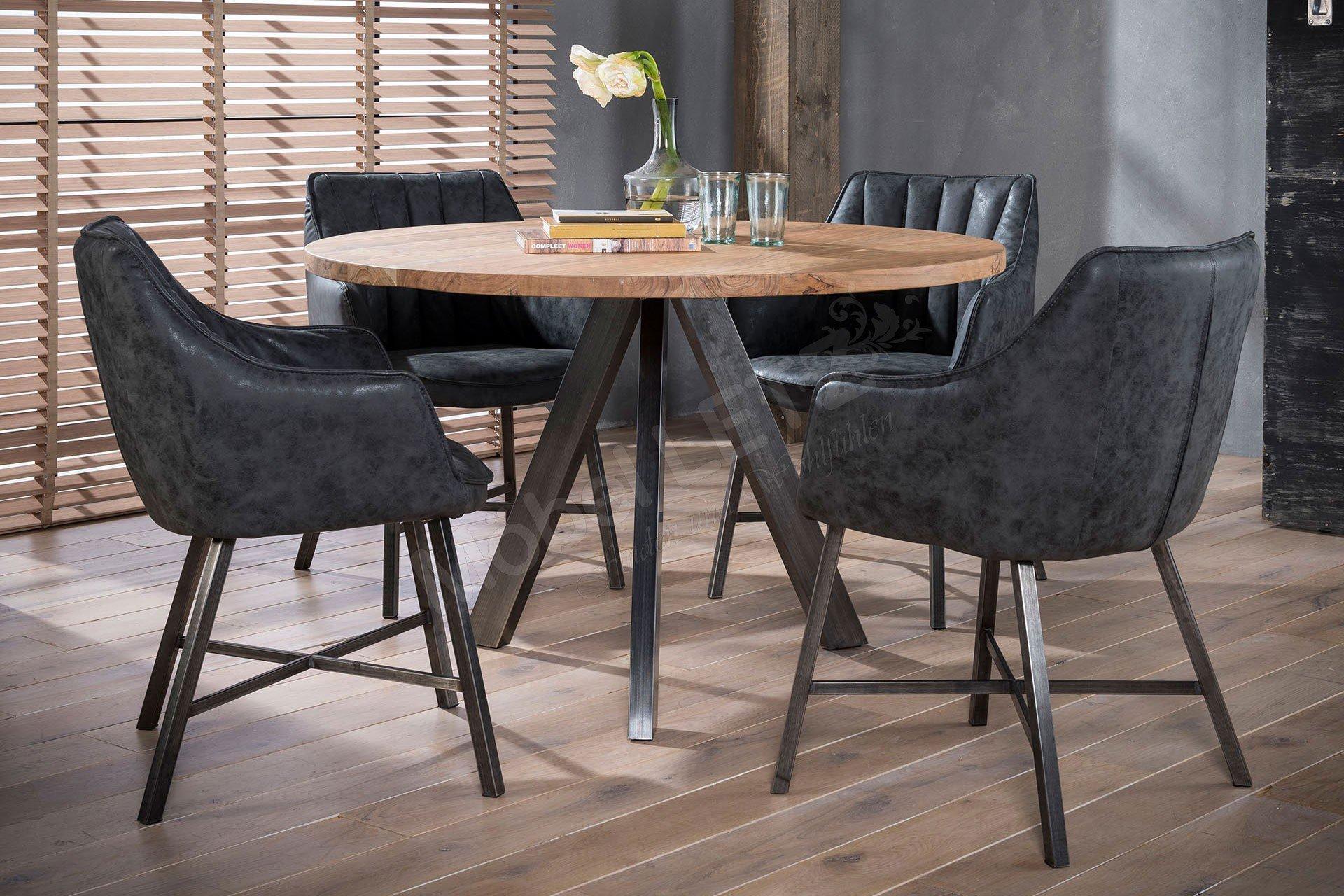 Zijlstra Tisch Tjin Akazie Edelstahl Möbel Letz Ihr Online Shop