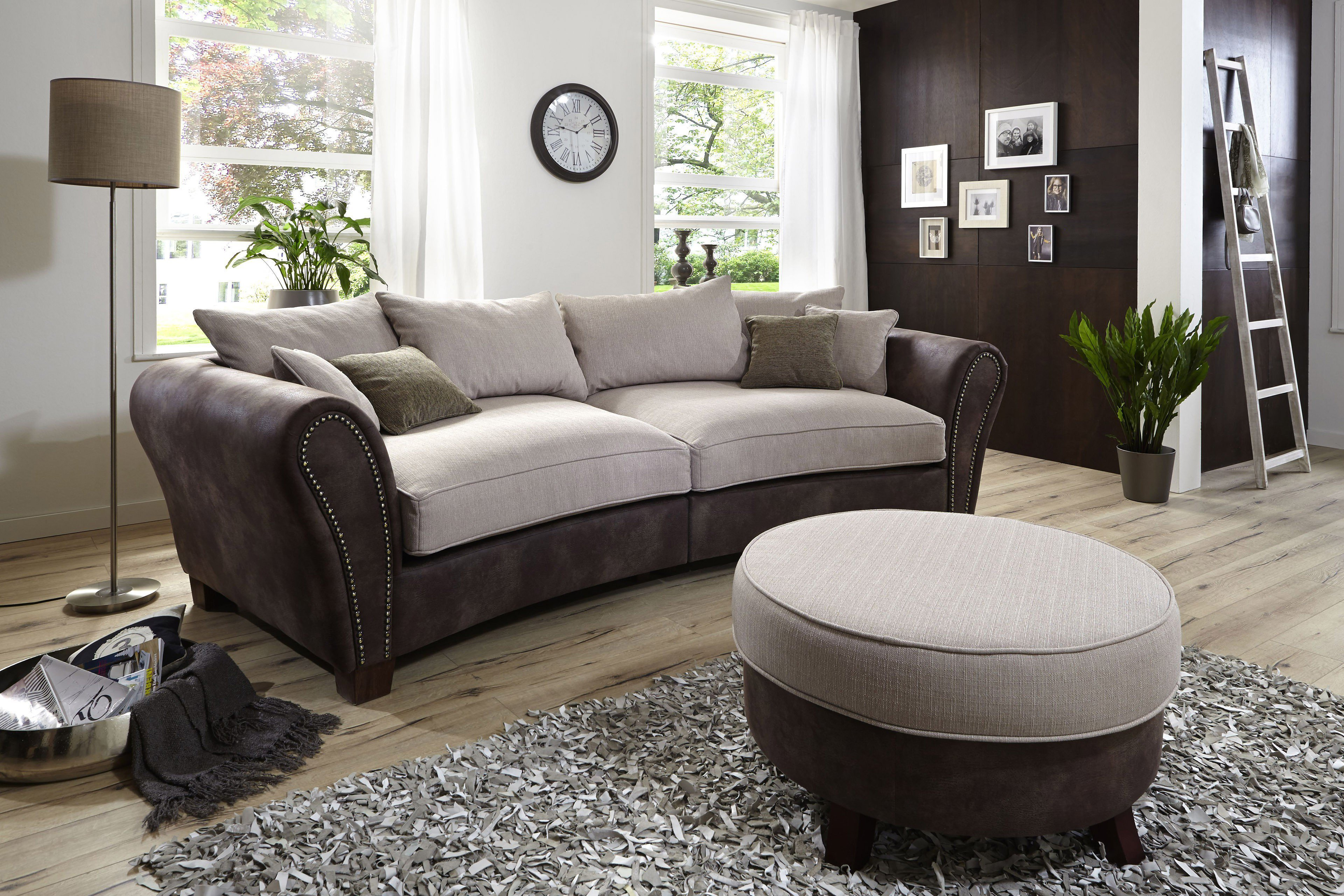 reality hudson megasofa braun beige m bel letz ihr. Black Bedroom Furniture Sets. Home Design Ideas