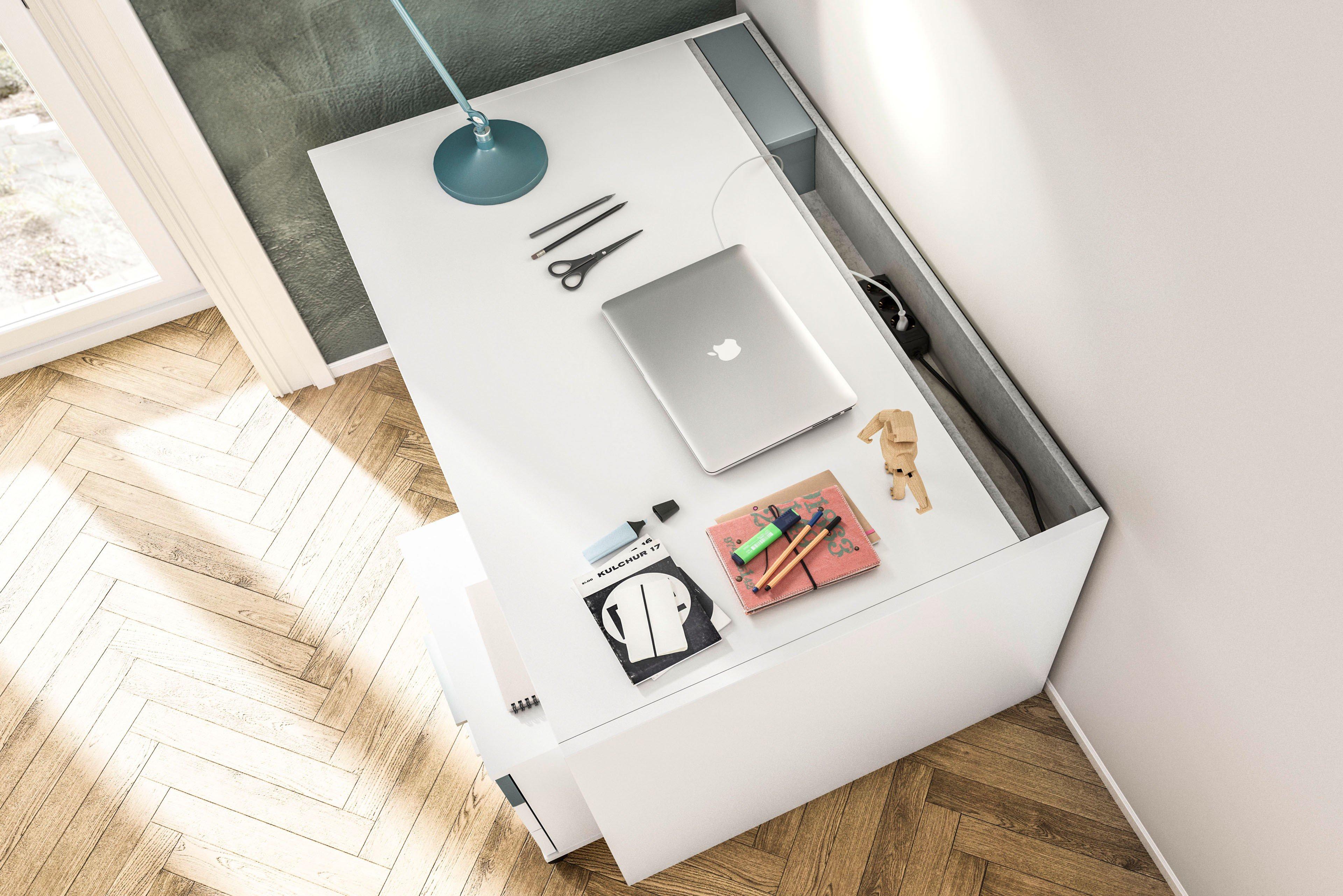 Jugendzimmer weiß - pixxel von Röhr-Bush   Möbel Letz - Ihr Online-Shop
