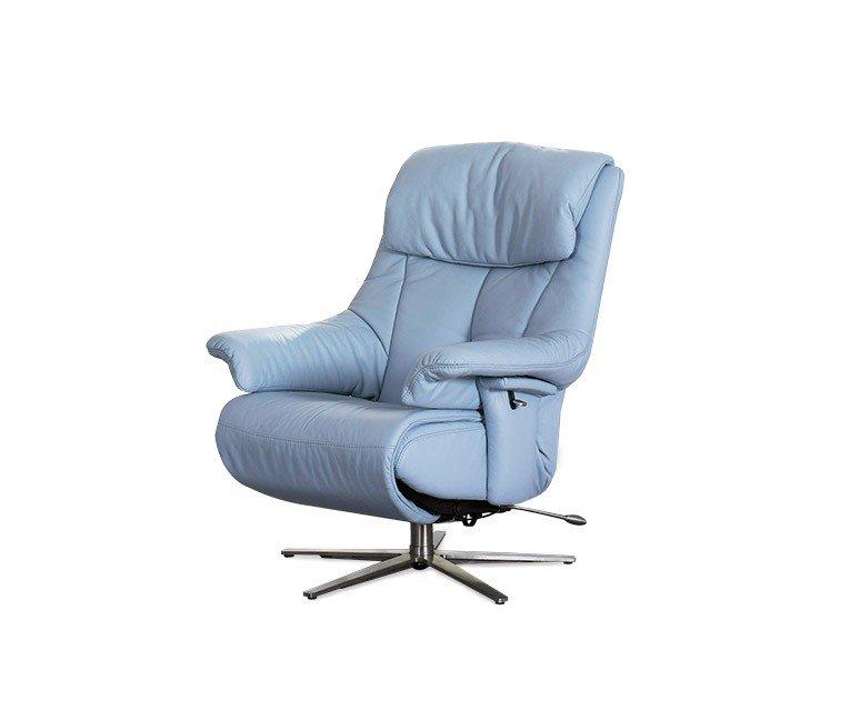 himolla 7501 relaxsessel in blau m bel letz ihr online shop. Black Bedroom Furniture Sets. Home Design Ideas