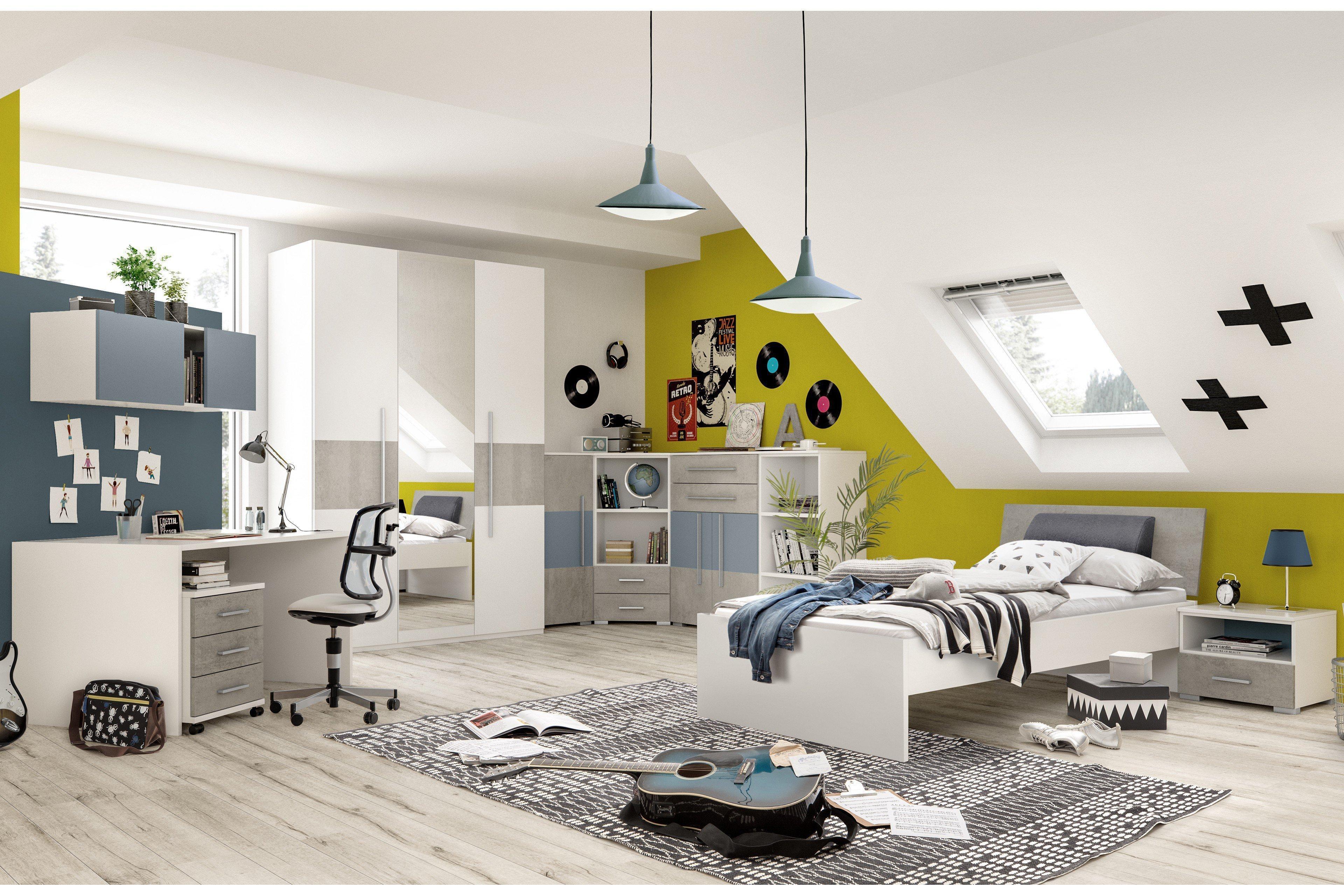 pixxel schrank pixxel bett von r hr wei betonoptik m bel letz ihr online shop. Black Bedroom Furniture Sets. Home Design Ideas