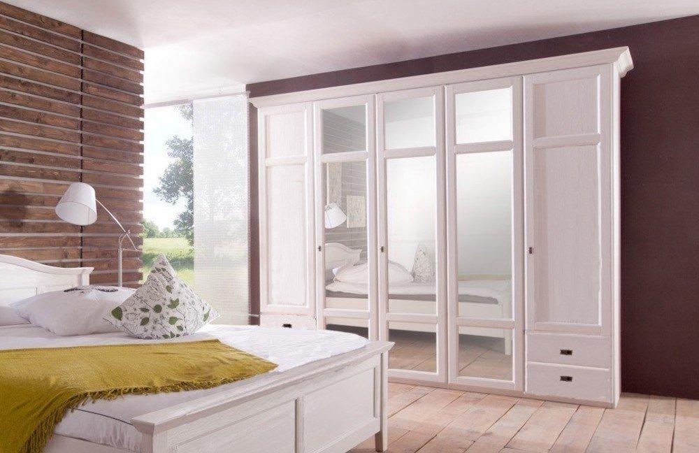 Schlafzimmer-Set Fara Telmex weiß Landhausstil | Möbel Letz - Ihr ...