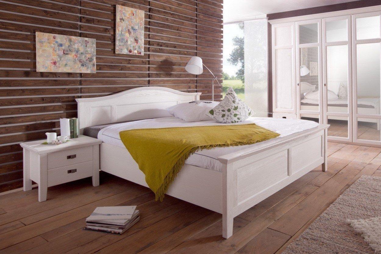 Fara von Telmex - Schlafzimmer-Set weiß Landhausstil