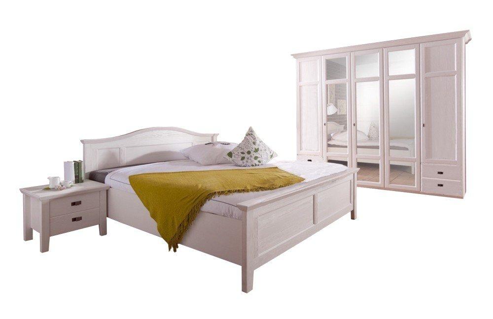 Schlafzimmer Set Fara Telmex Weiss Landhausstil Mobel Letz Ihr