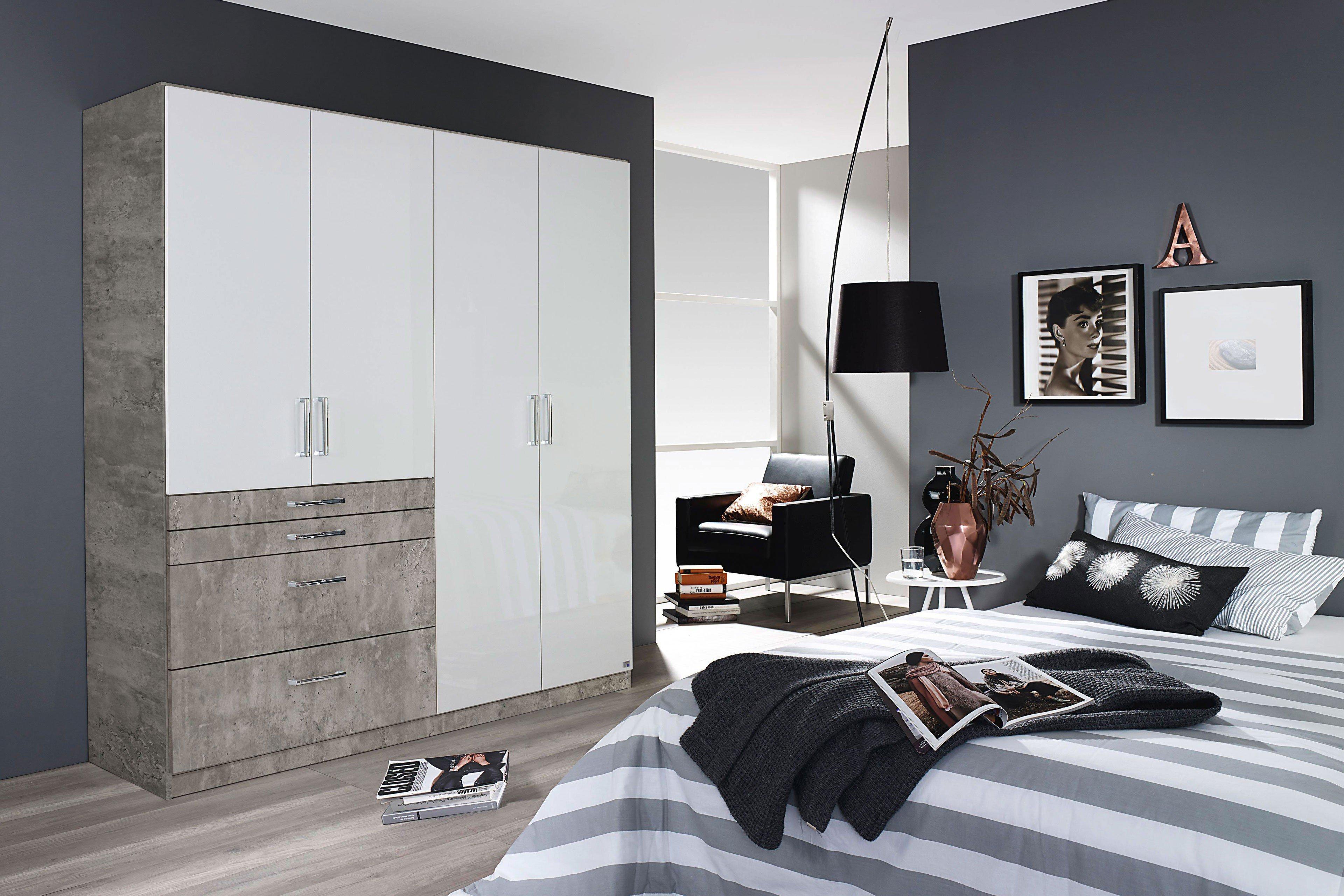 rauch homburg extra kleiderschrank wei stone m bel letz ihr online shop. Black Bedroom Furniture Sets. Home Design Ideas