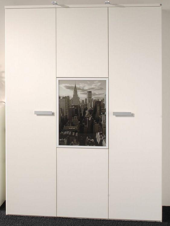 Change von Röhr Bush Wohnwand weiß/ schwarz Jugendzimmer ...