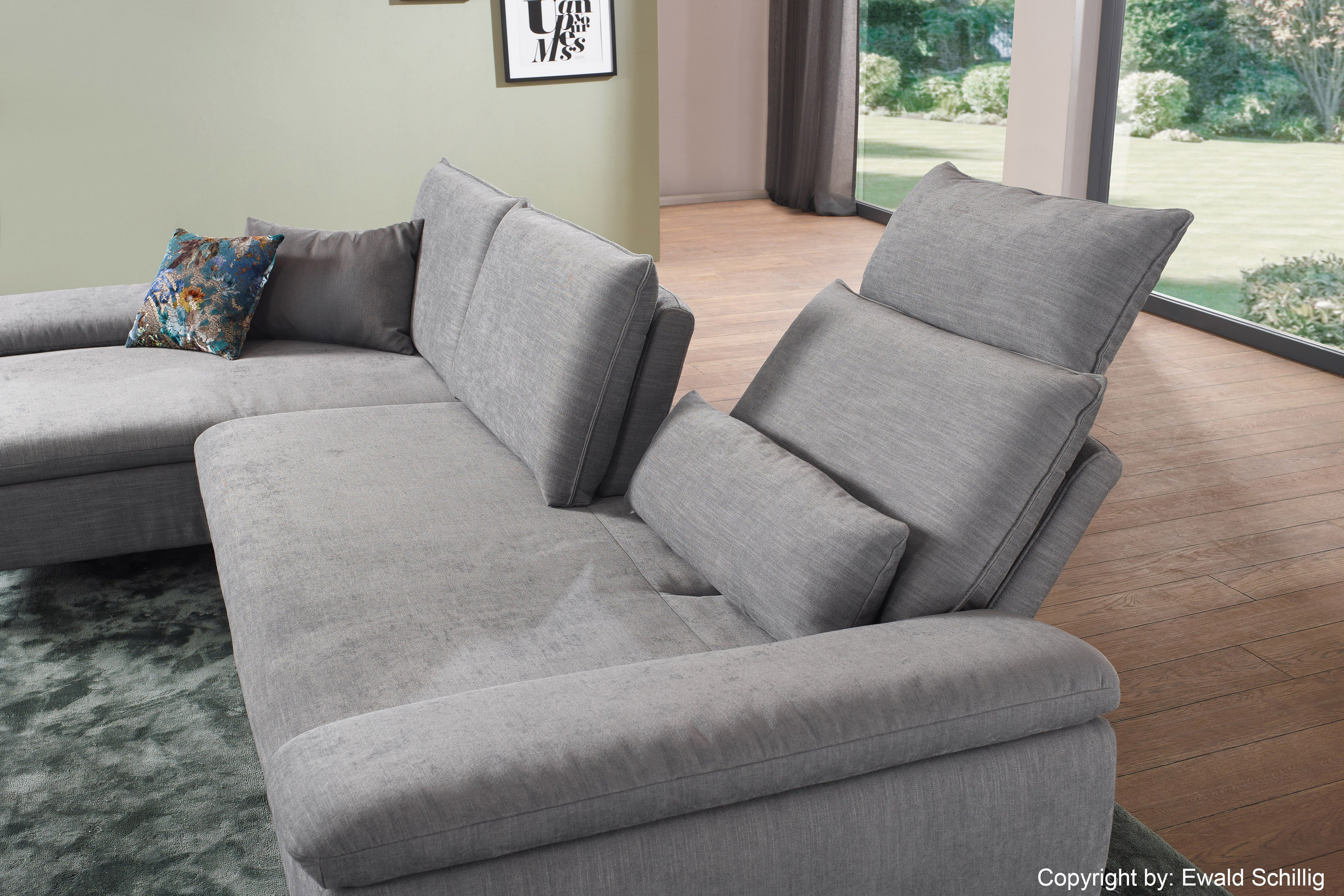 ewald schillig loco ecksofa hellgrau m bel letz ihr. Black Bedroom Furniture Sets. Home Design Ideas