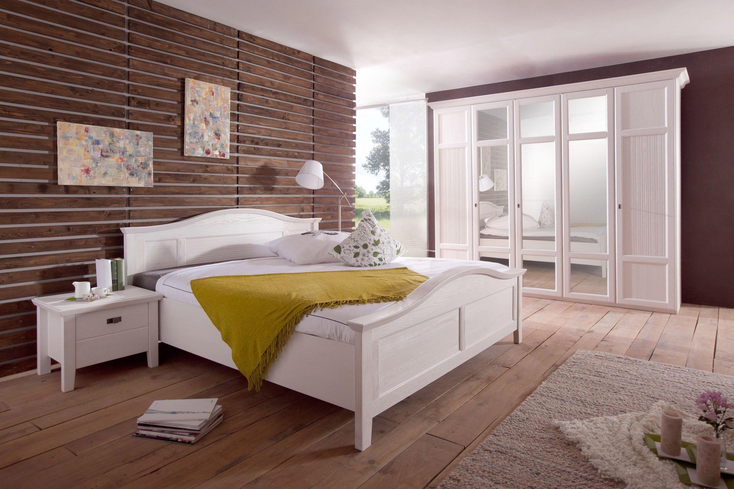 Telmex casa schlafzimmer m bel pinie wei lackiert m bel letz ihr online shop - Schlafzimmer pinie ...