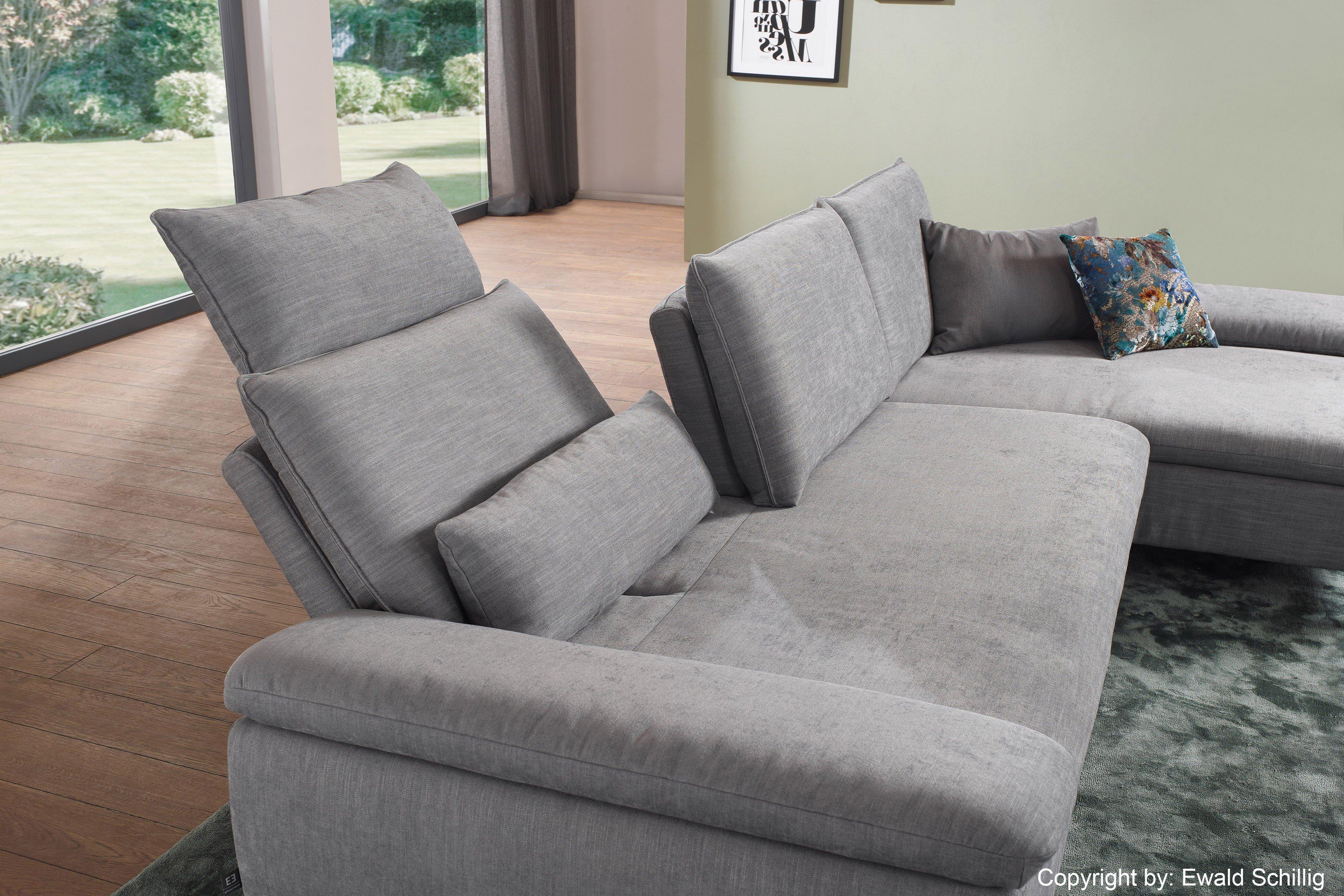 ewald schillig loco eckgarnitur in grau m bel letz ihr. Black Bedroom Furniture Sets. Home Design Ideas