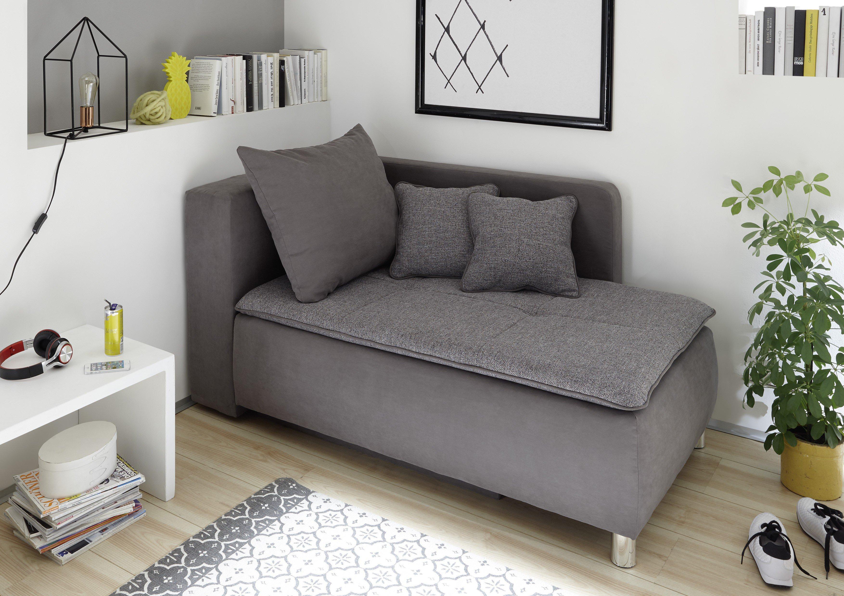black red white einzelliege marilyn grau mit bettkasten m bel letz ihr online shop. Black Bedroom Furniture Sets. Home Design Ideas