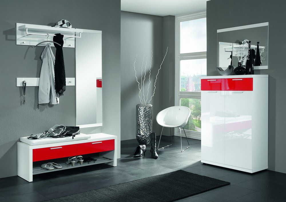 garderobenpaneele rot bestseller shop f r m bel und einrichtungen. Black Bedroom Furniture Sets. Home Design Ideas