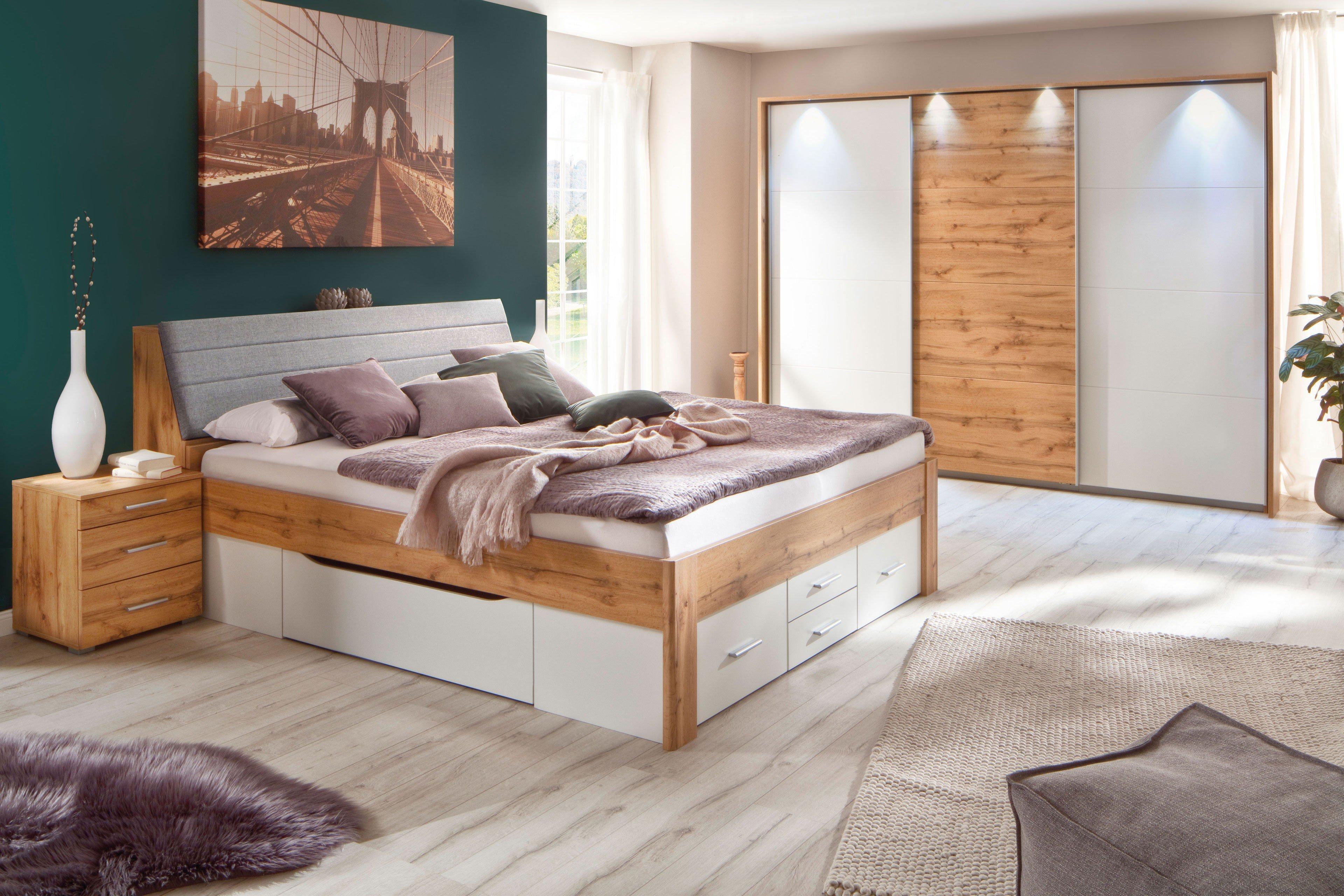 rauch scala extra bett mit schubk sten eiche wotan m bel. Black Bedroom Furniture Sets. Home Design Ideas