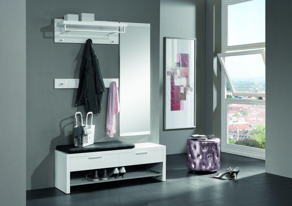 garderobe lagos lack wei von voss m bel m bel letz. Black Bedroom Furniture Sets. Home Design Ideas