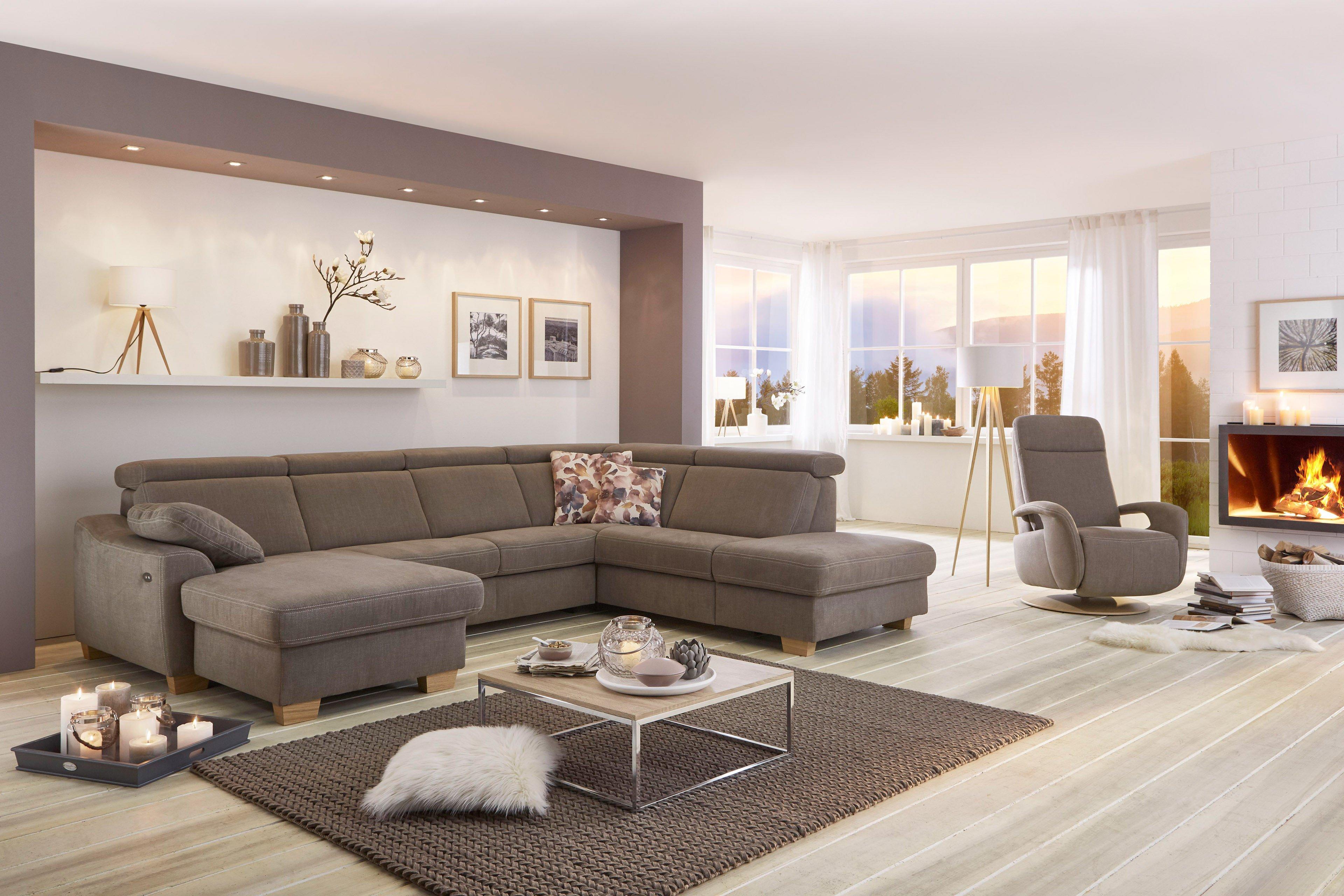 Zehdenick Arcadia Polstergarnitur nougat | Möbel Letz - Ihr Online-Shop