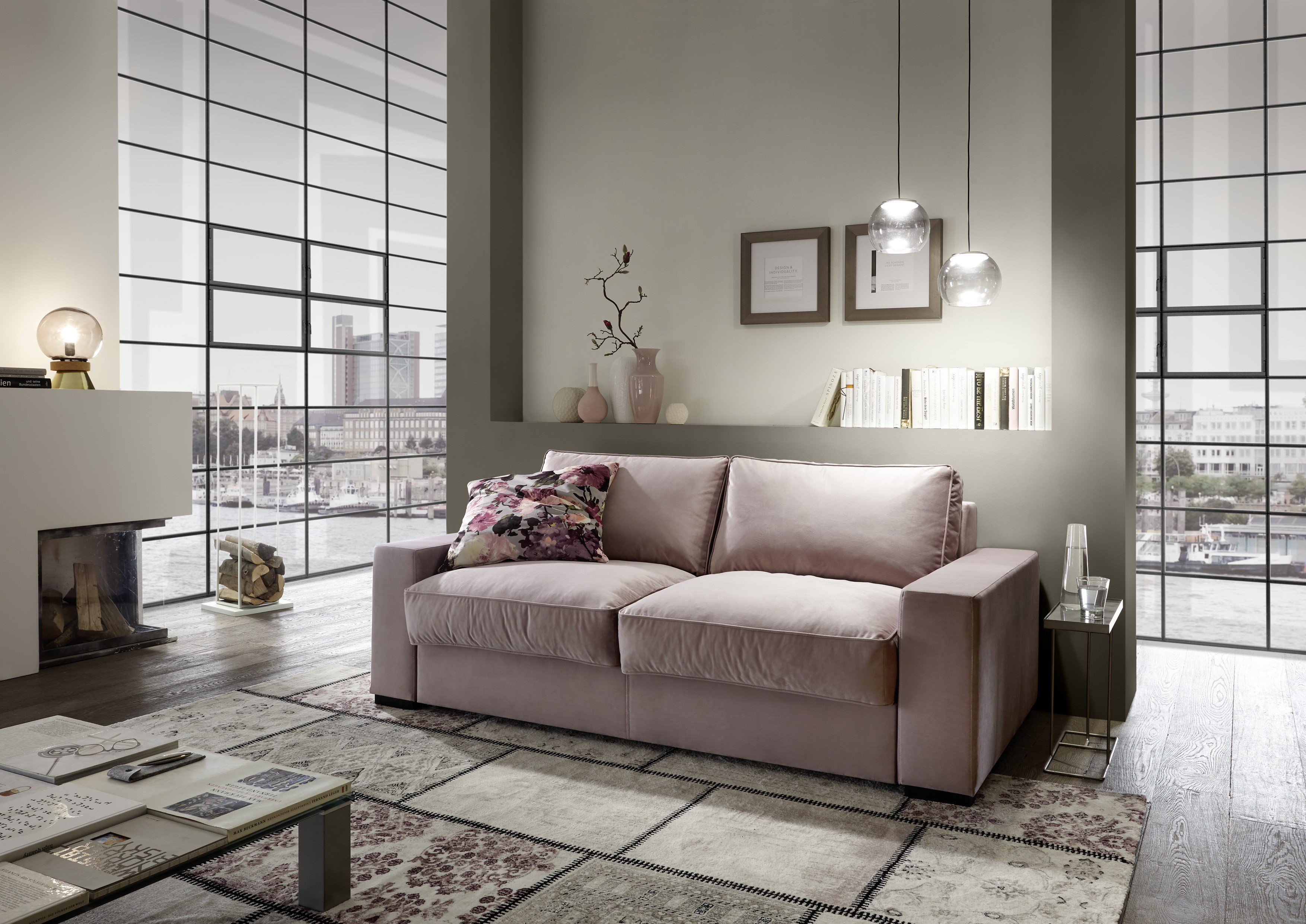 nehl wohnideen koast lounge faltbett in rose m bel letz. Black Bedroom Furniture Sets. Home Design Ideas