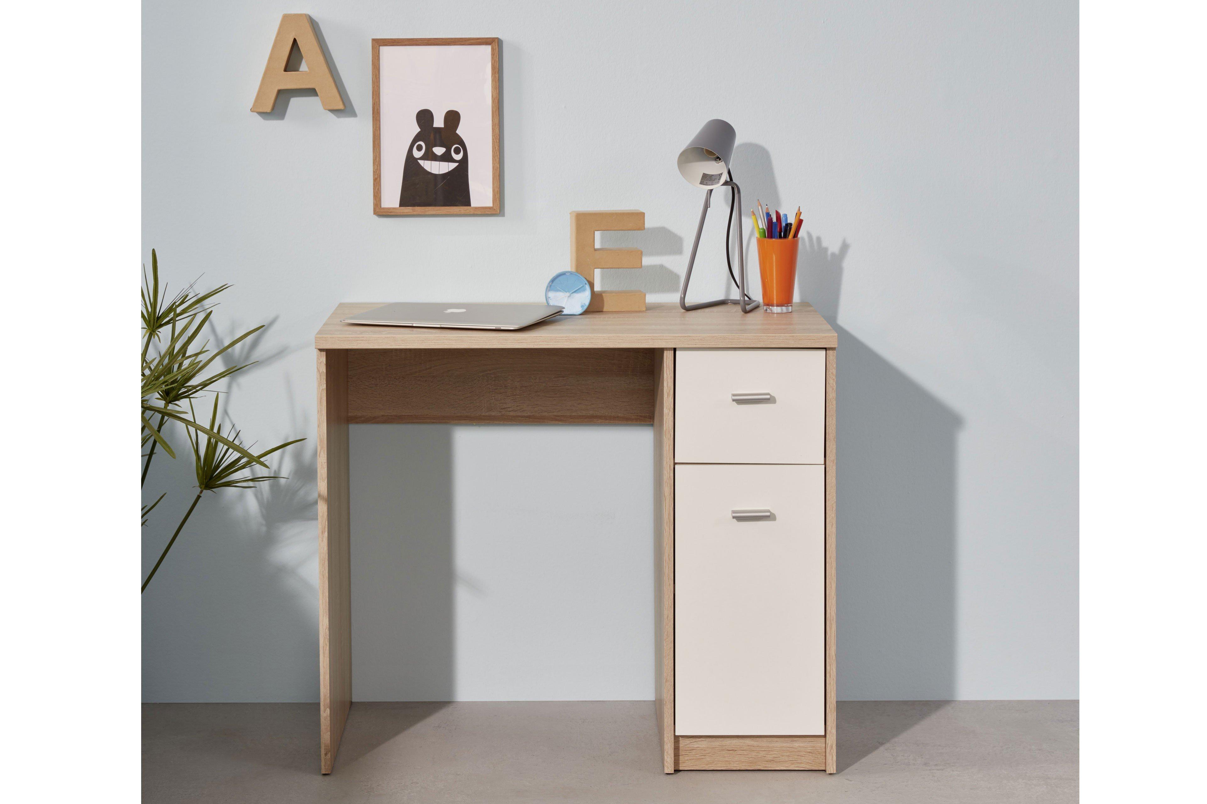 schreibtisch nova trendteam eiche s gerau hell m bel letz ihr online shop. Black Bedroom Furniture Sets. Home Design Ideas