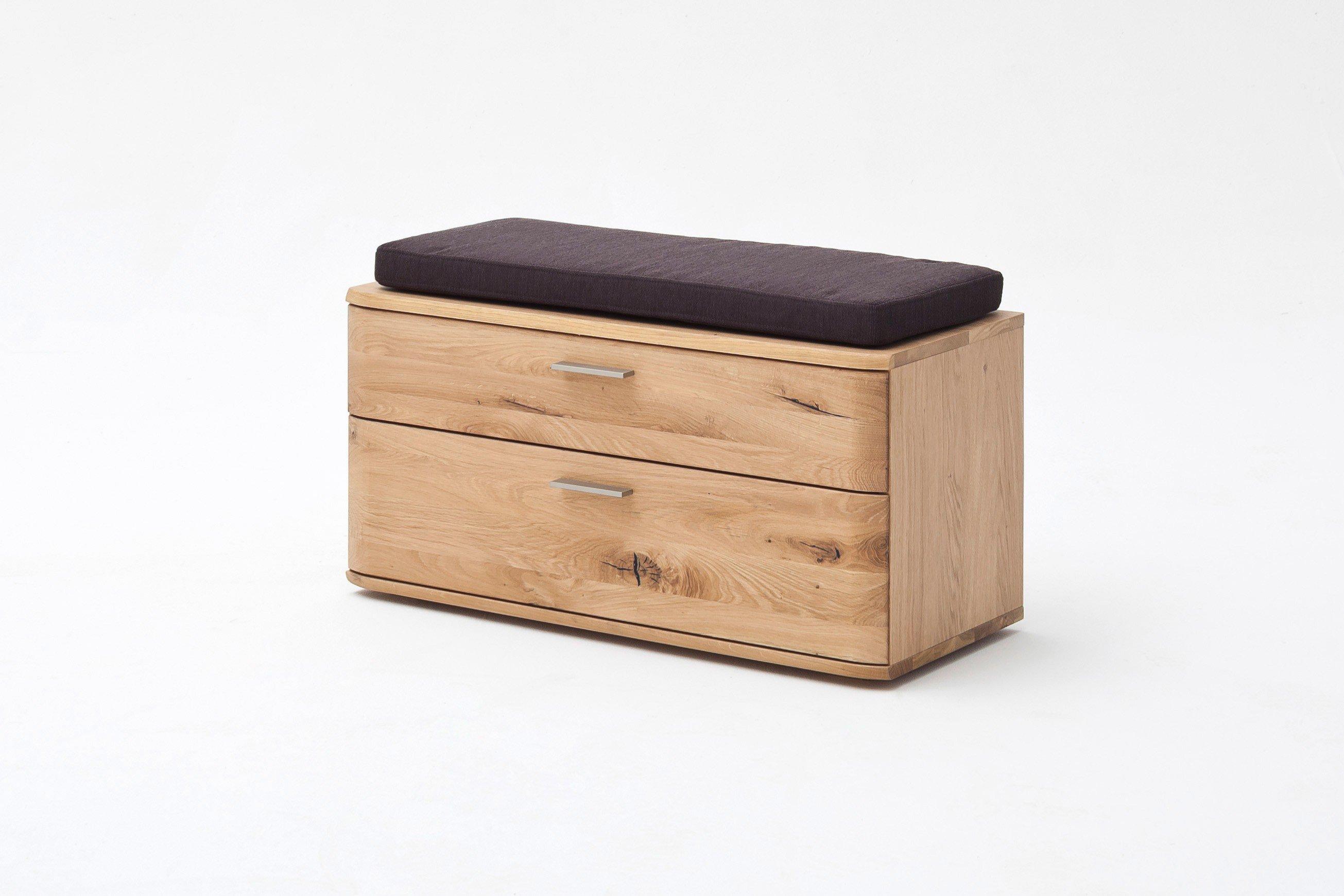 Garderobenbank Nilo Balkeneiche bianco - MCA furniture | Möbel Letz ...