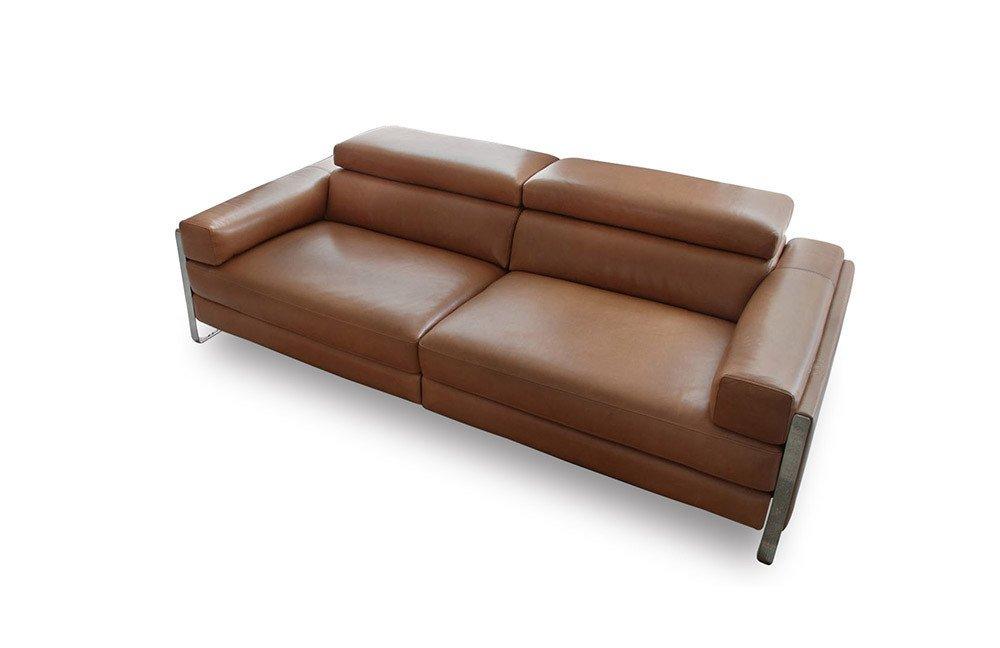 Calia Italia Romeo Relax Ledercouch In Braun Mobel Letz Ihr Online Shop