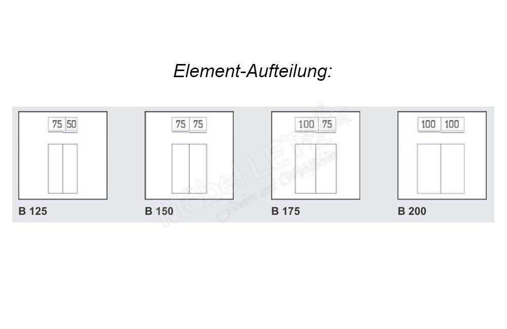 Express Budget 2 Schrank Tiefe ca. 48 cm weiß | Möbel Letz - Ihr ...