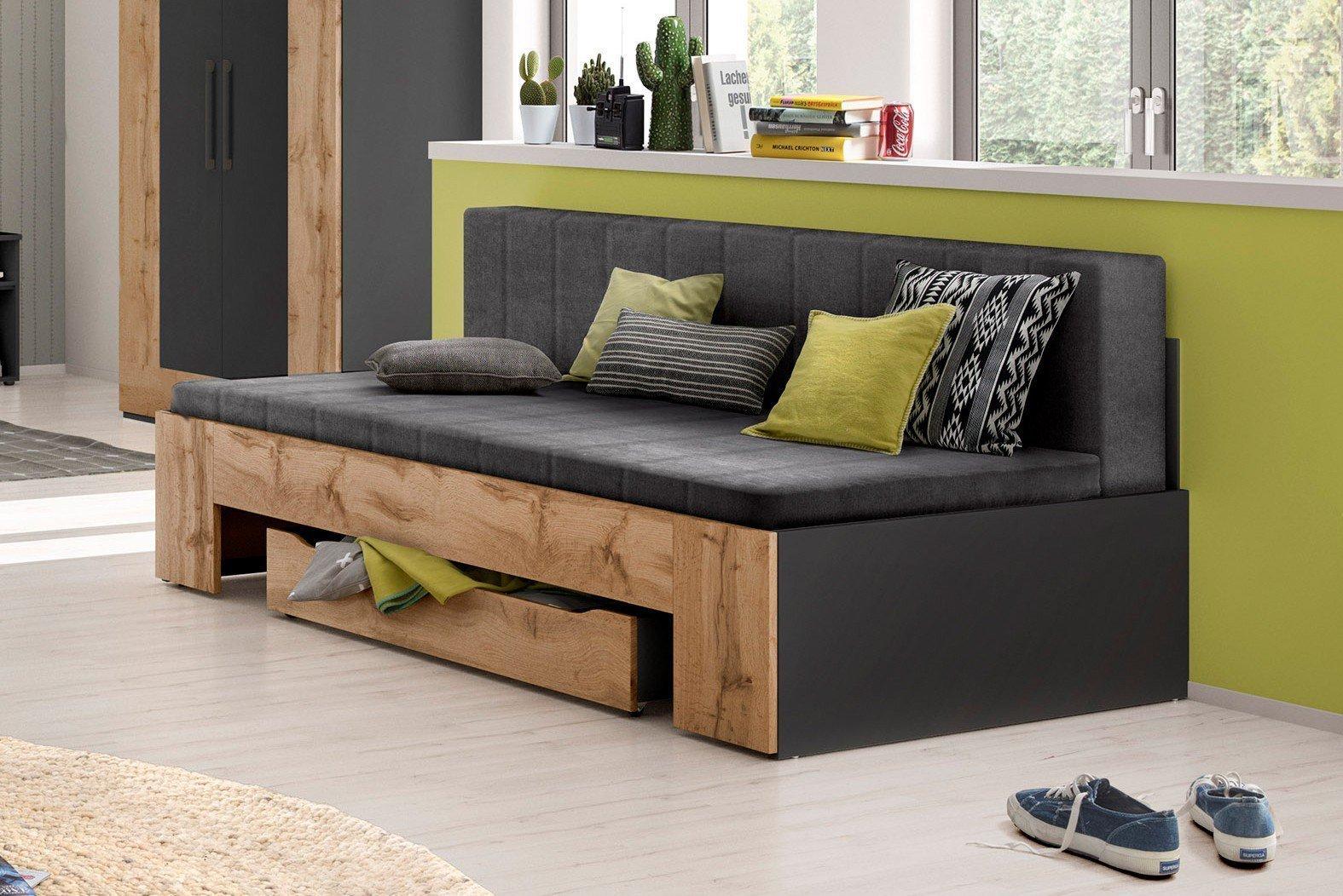bett sofa best schlafsofa sabrina von bali ideal auch fr. Black Bedroom Furniture Sets. Home Design Ideas