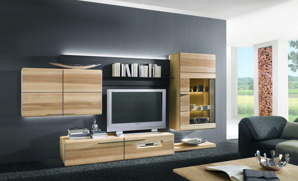 Wohnwand Atena 10 von Thielemeyer Möbel Letz  Ihr Online