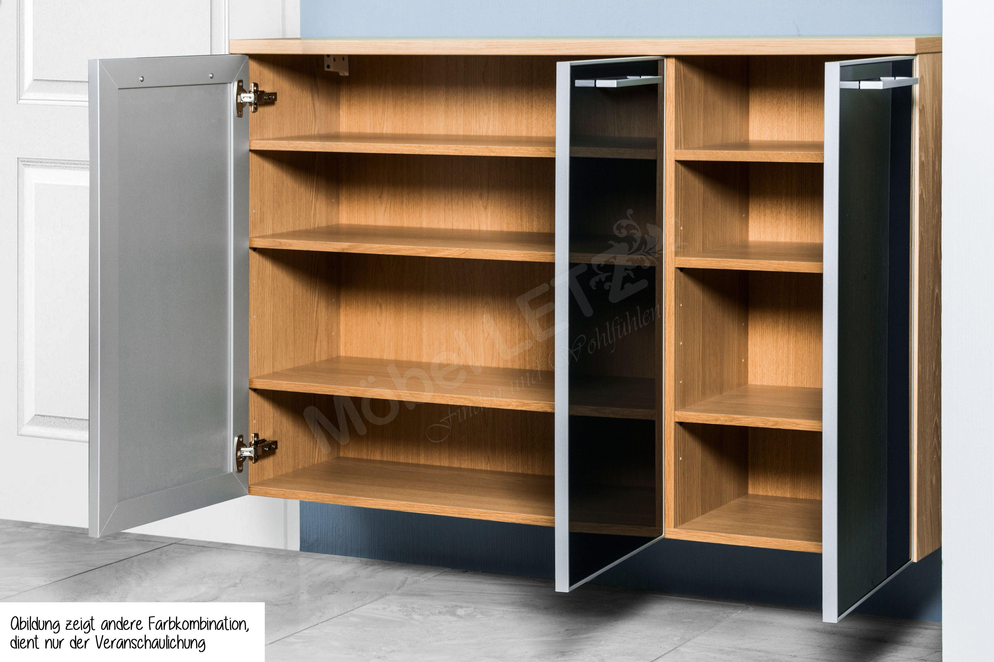 h ngekommode ventina lack wei glas wei voss m bel m bel letz ihr online shop. Black Bedroom Furniture Sets. Home Design Ideas
