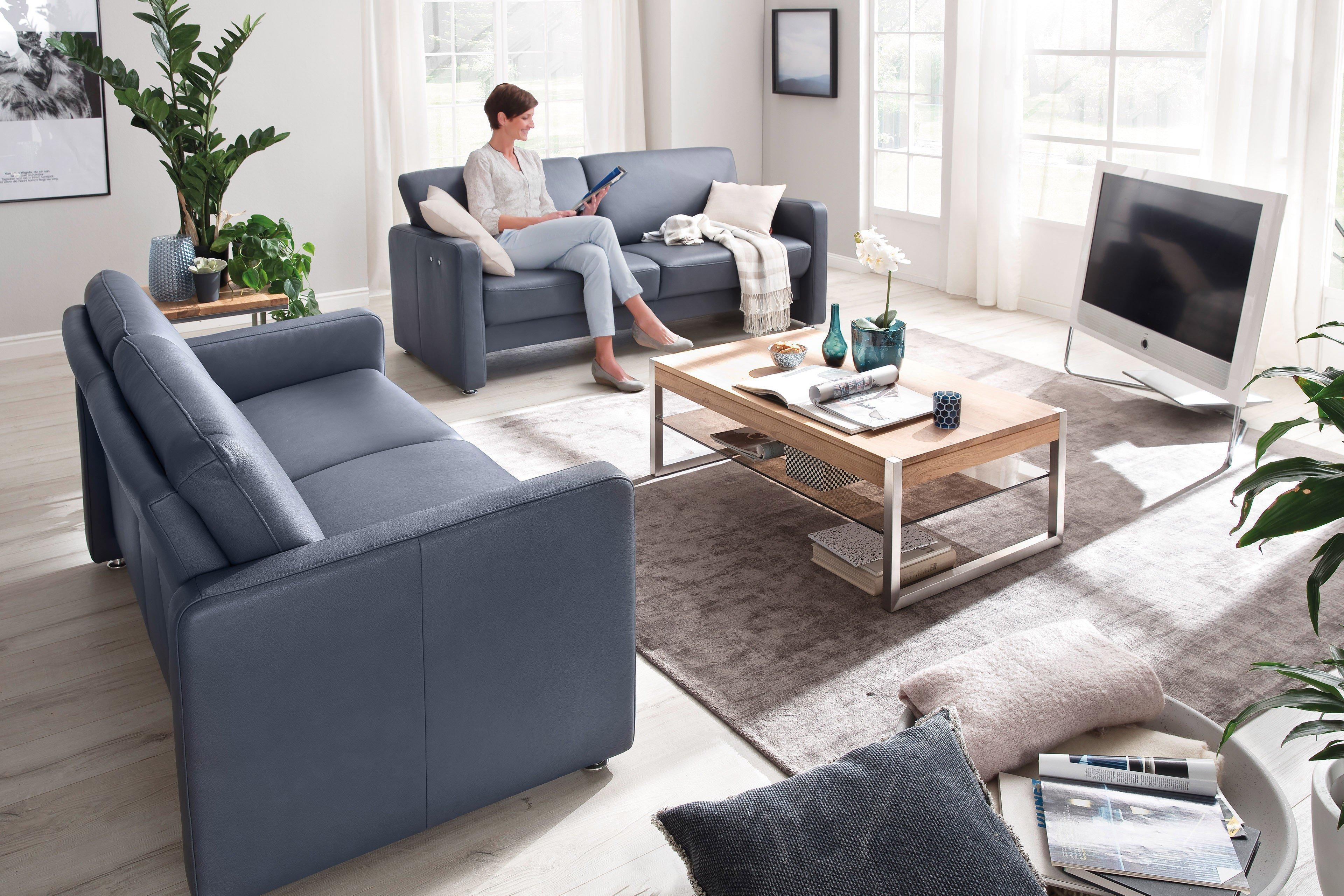 Casada Chronos Sofagruppe blau | Möbel Letz - Ihr Online-Shop
