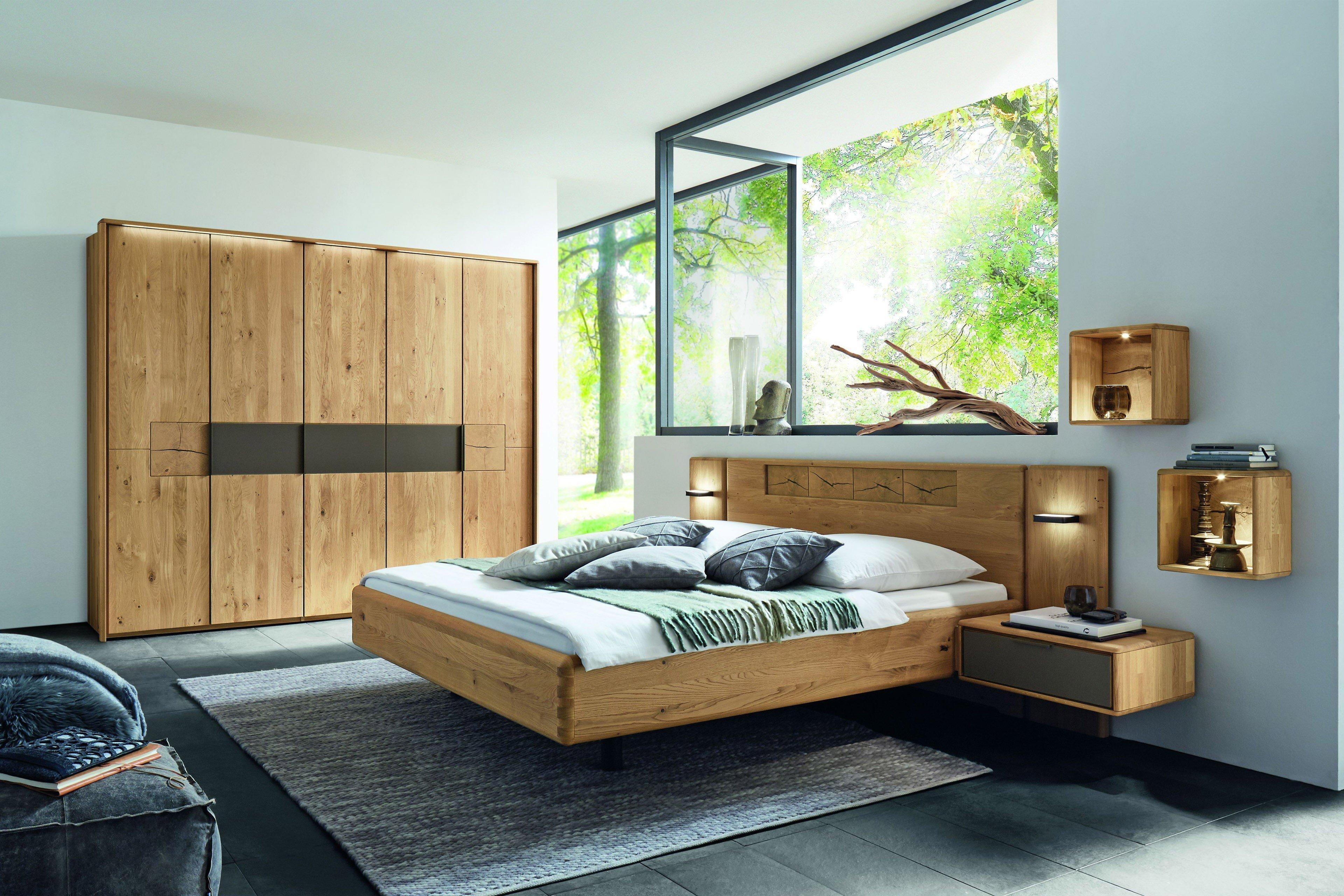 WSM 11 von Wöstmann - Schlafzimmermöbel Wildeiche