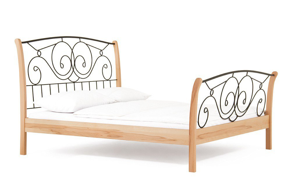 dico vintage holzbett kernbuche ge lt m bel letz ihr online shop. Black Bedroom Furniture Sets. Home Design Ideas