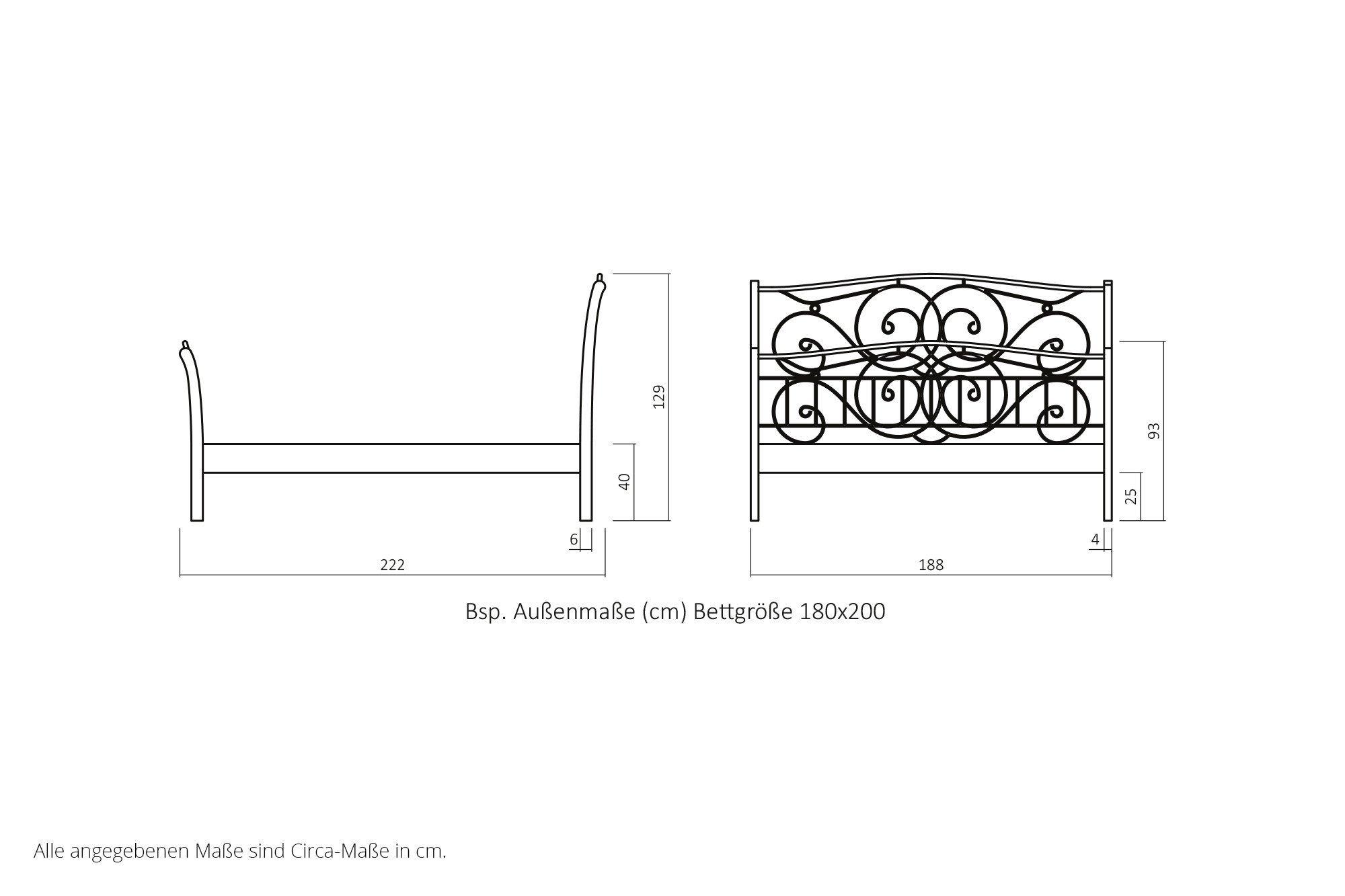 dico vintage holzbett kernbuche ge lt m bel letz ihr. Black Bedroom Furniture Sets. Home Design Ideas