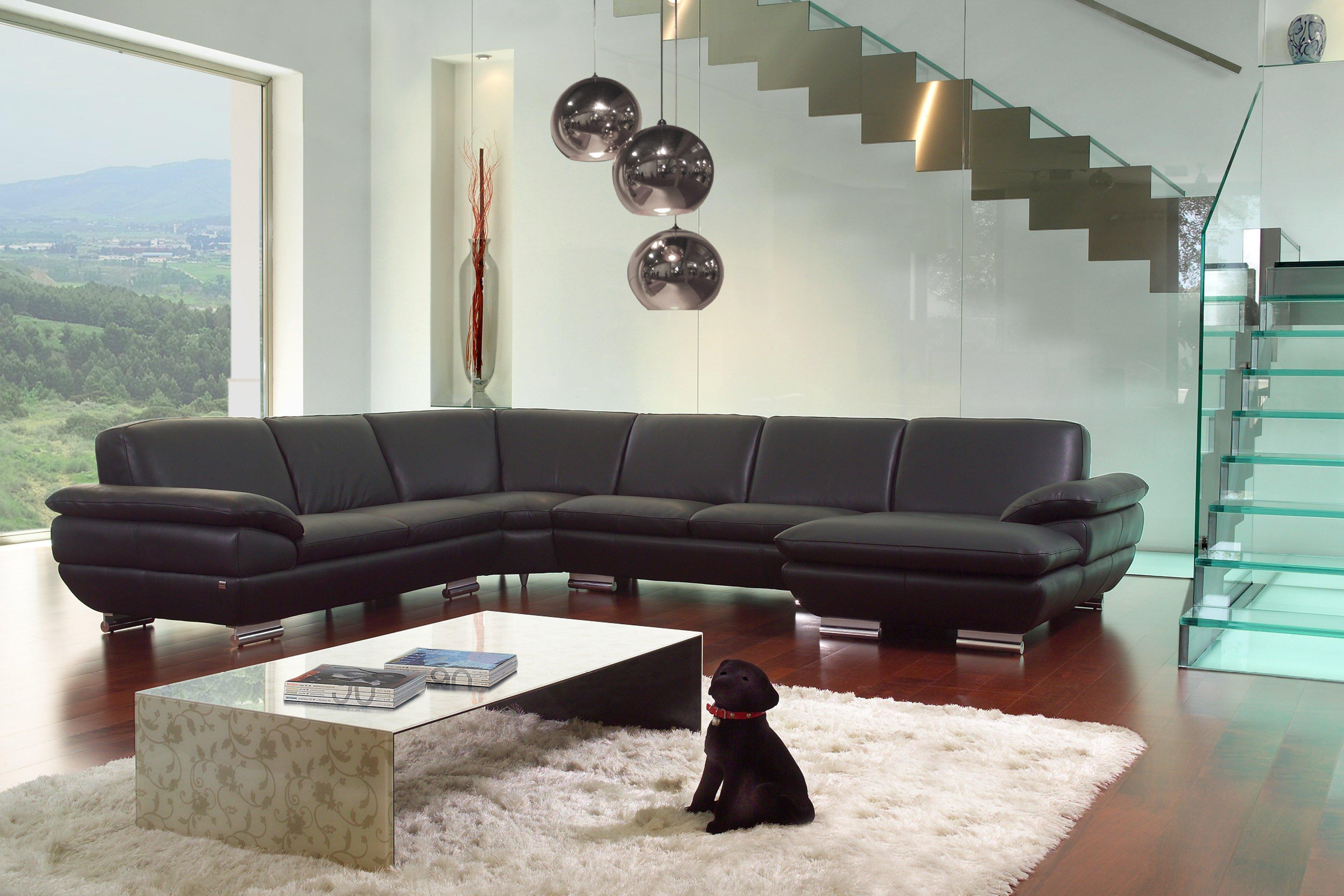 Calia Italia Glamour Wohnlandschaft Schwarz Möbel Letz Ihr