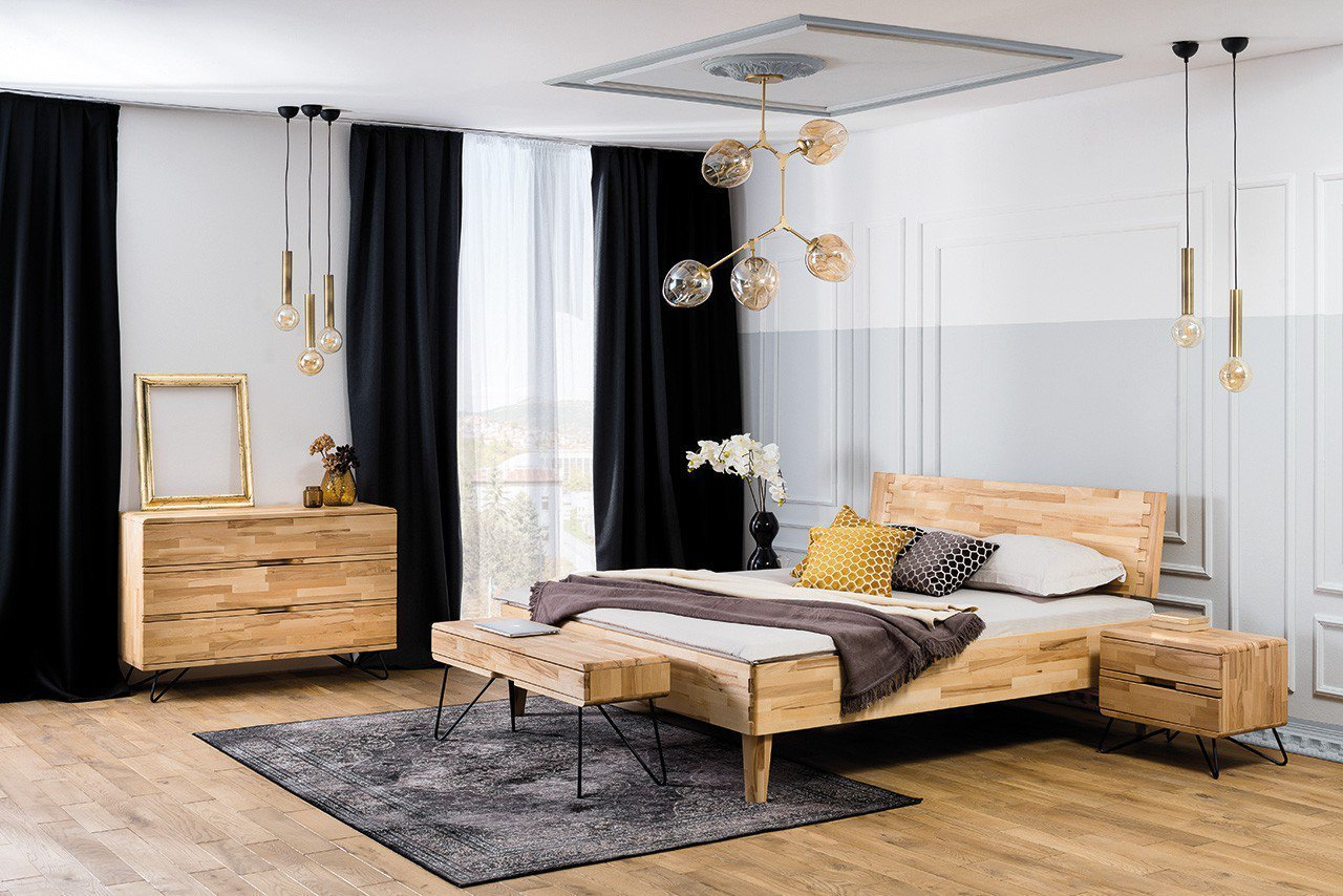 dico m bel atlanta holzbett kernbuche ge lt m bel letz ihr online shop. Black Bedroom Furniture Sets. Home Design Ideas