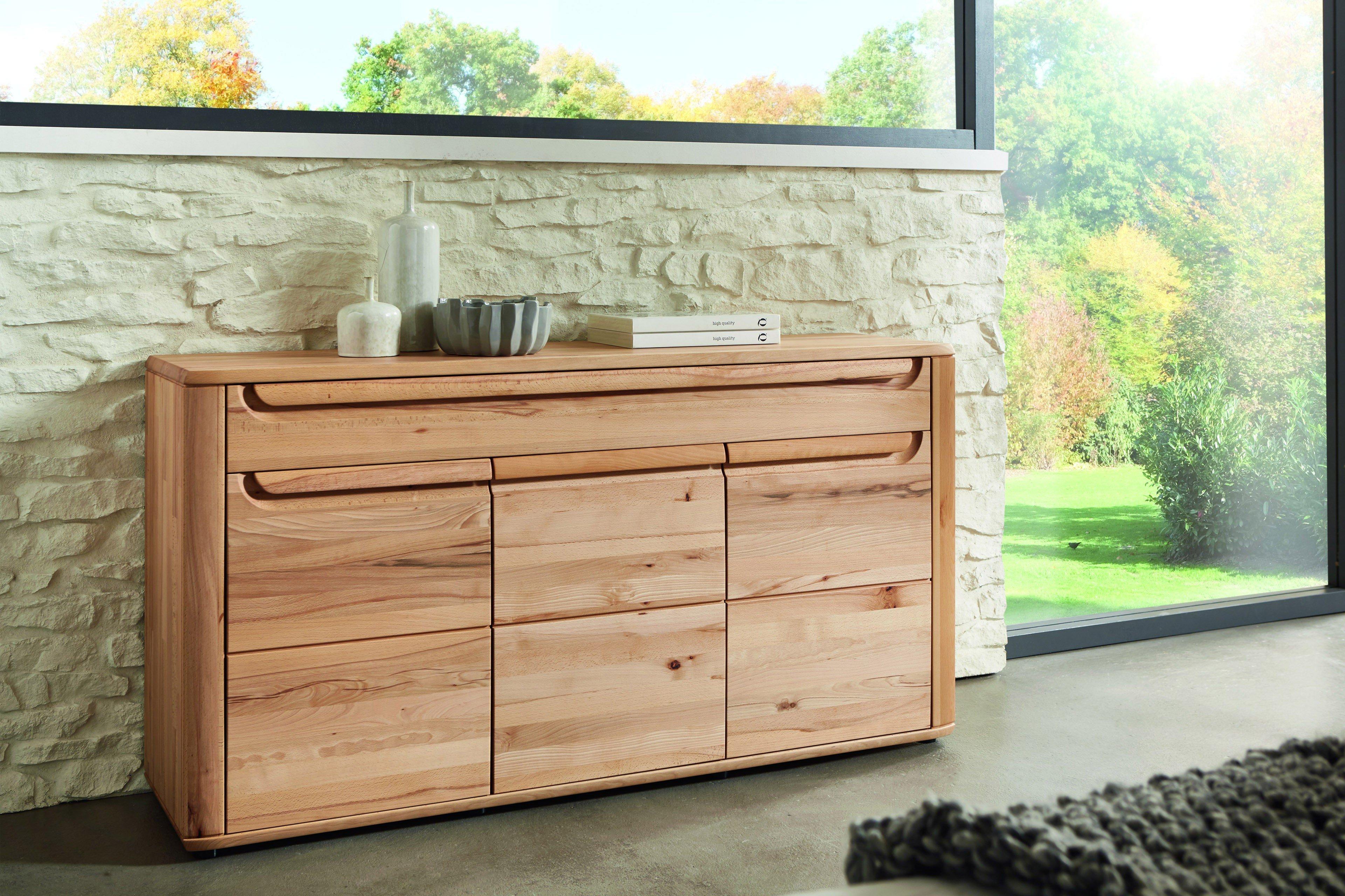 w stmann wsm 2300 kommode kernbuche ge lt m bel letz ihr online shop. Black Bedroom Furniture Sets. Home Design Ideas