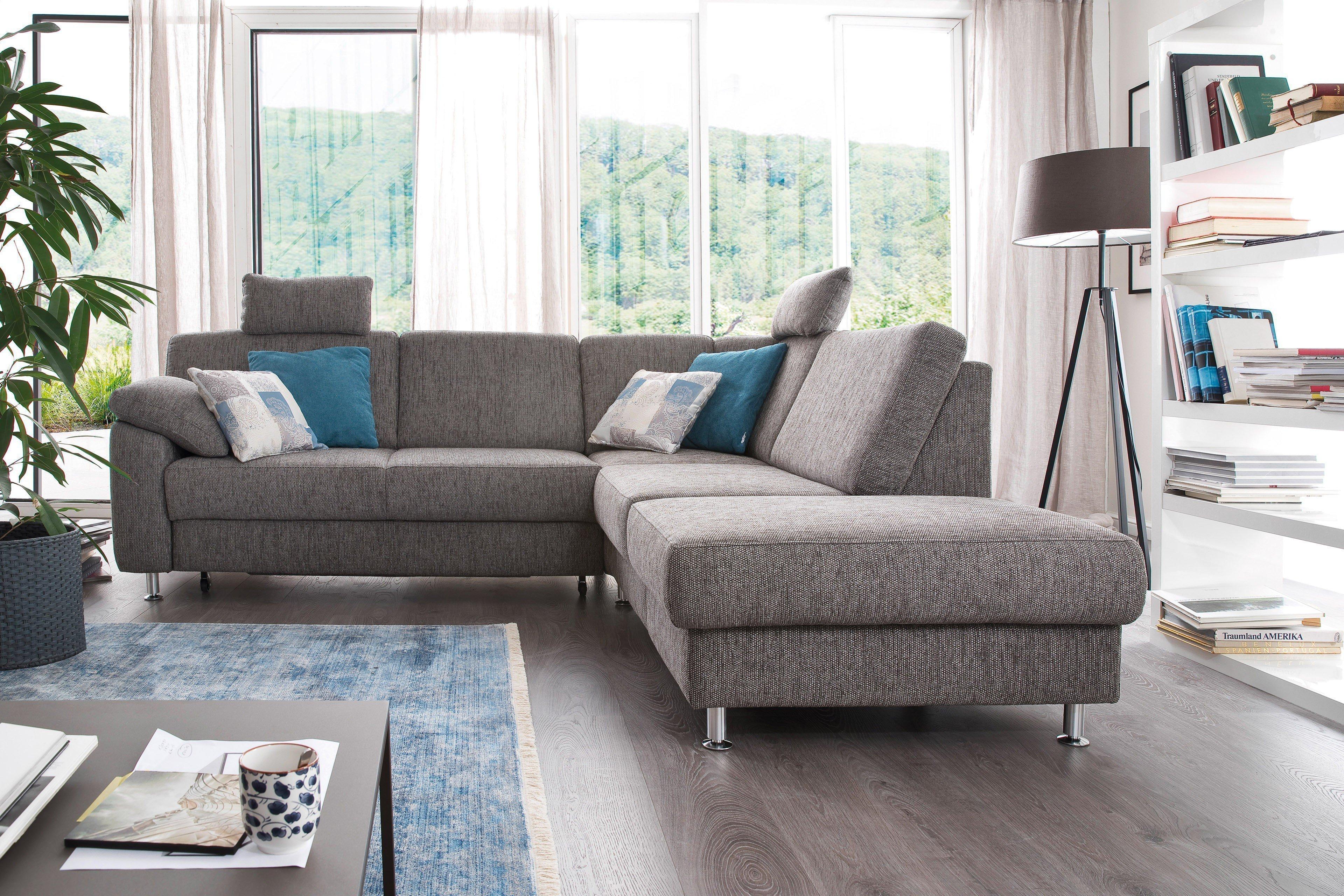 sit more home basic belfort ecksofa taupe m bel letz ihr online shop. Black Bedroom Furniture Sets. Home Design Ideas