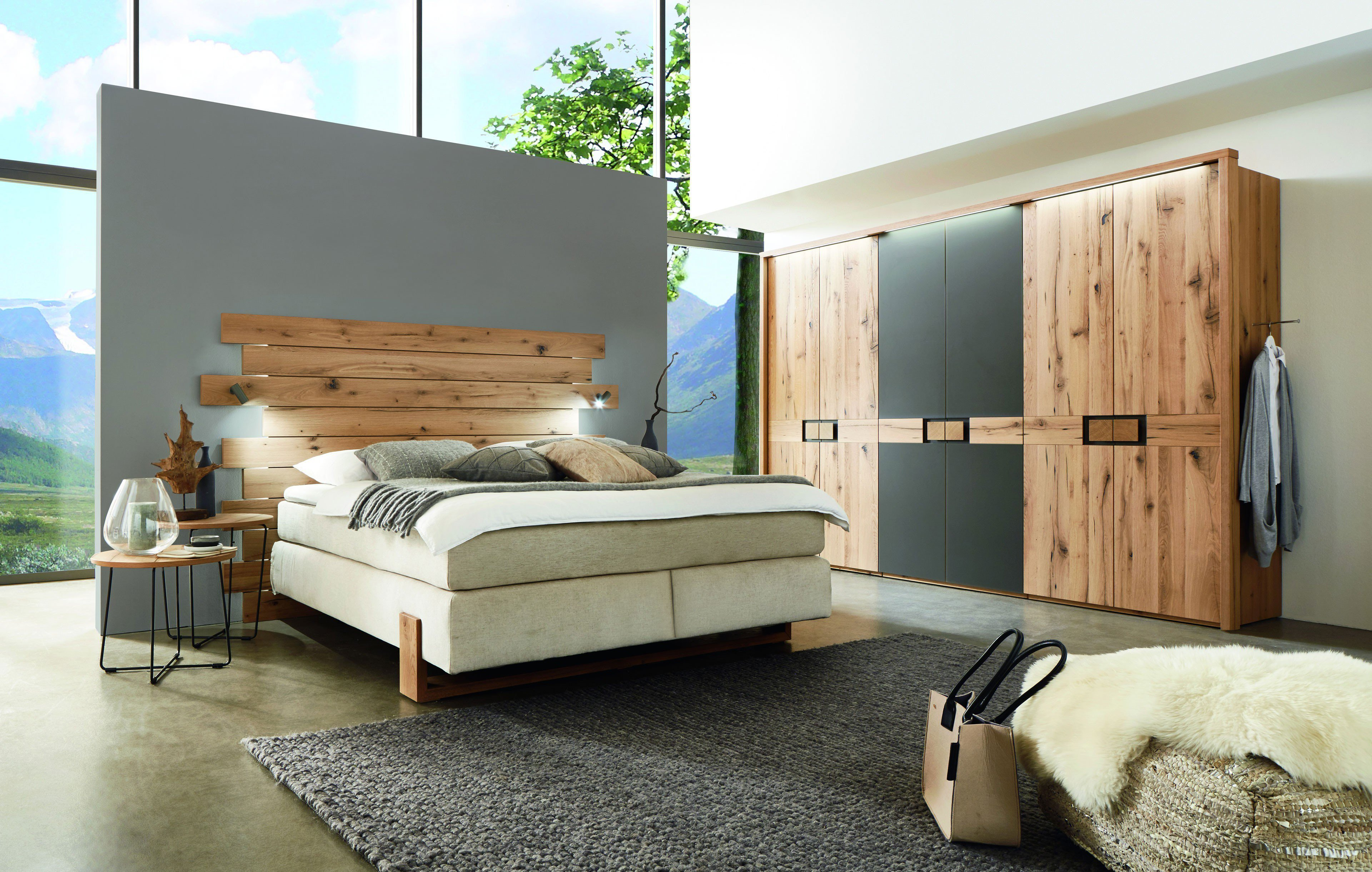 wsm 1700 w stmann boxspringbett eiche altholz furniert m bel letz ihr online shop. Black Bedroom Furniture Sets. Home Design Ideas