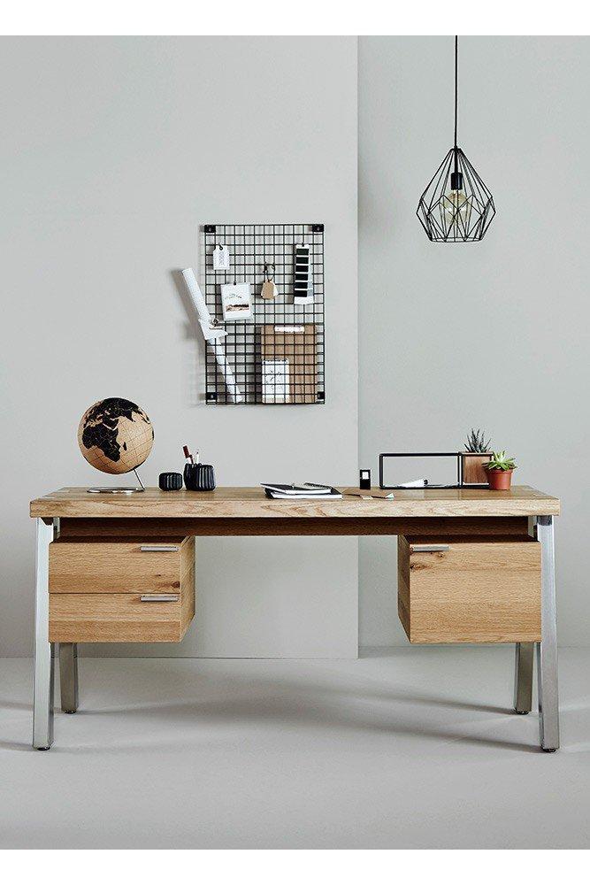 Jahnke Solid Schreibtisch Wildeiche | Möbel Letz - Ihr Online-Shop