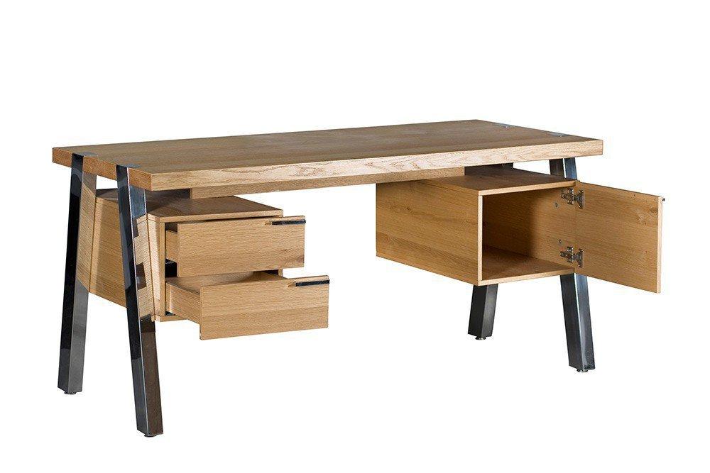 jahnke solid schreibtisch wildeiche m bel letz ihr online shop. Black Bedroom Furniture Sets. Home Design Ideas