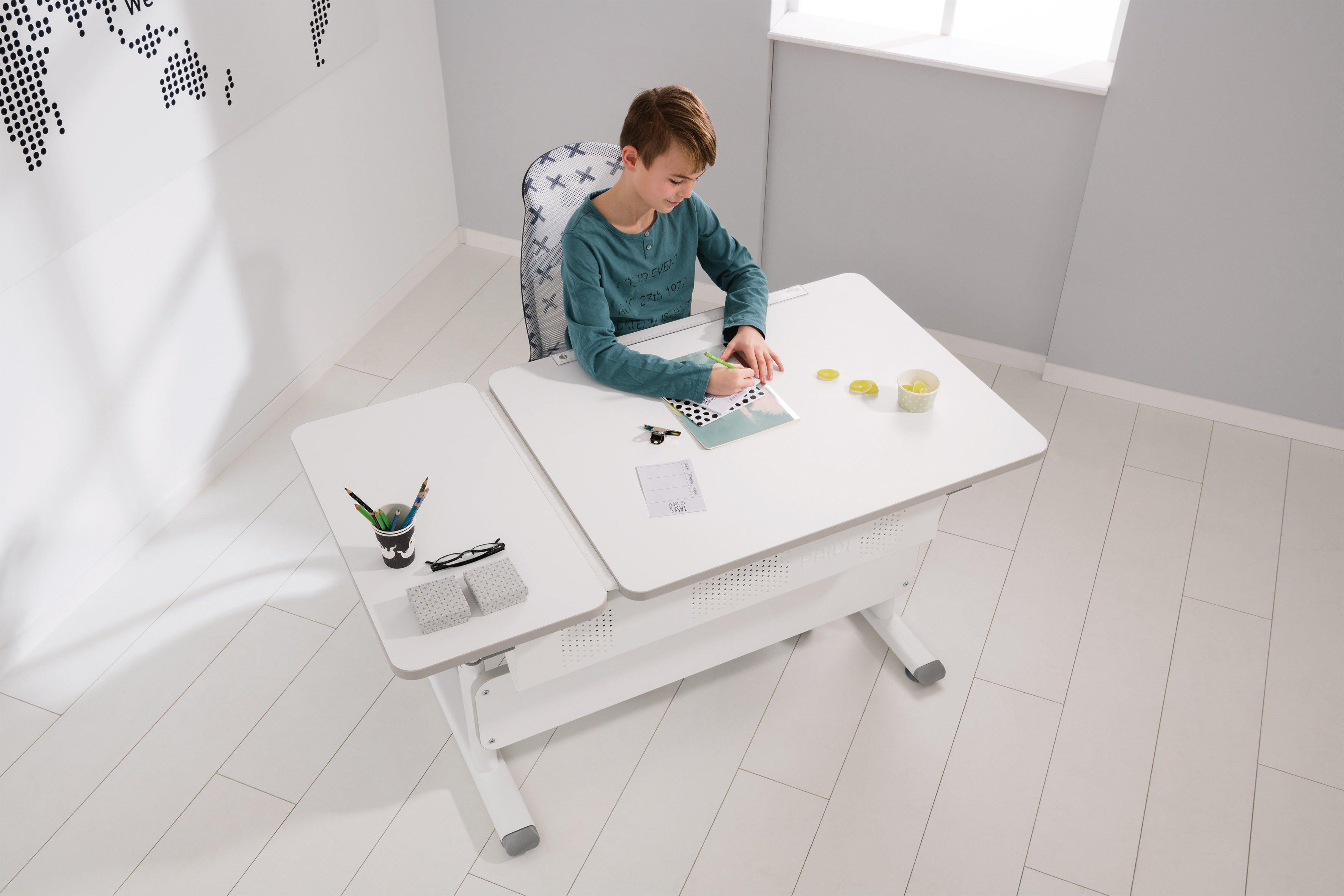 Paidi Diego Schreibtisch 130 Gt Kreideweiß Möbel Letz Ihr
