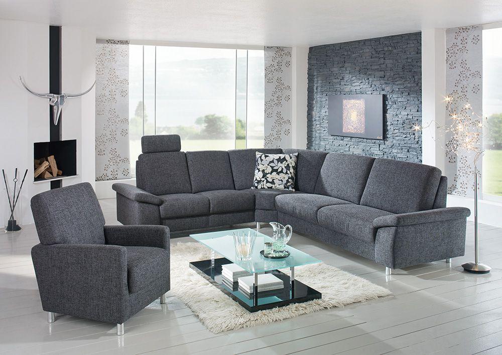 gruber polsterm bel nizza eckgarnitur anthrazit m bel letz ihr online shop. Black Bedroom Furniture Sets. Home Design Ideas