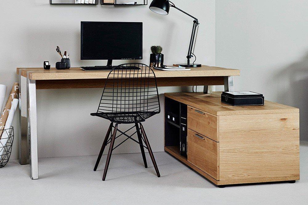 Jahnke Solid Desk 165 Wildeiche Mobel Letz Ihr Online Shop