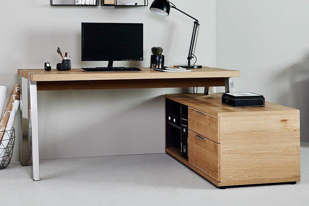 Jahnke Solid Desk 165 Wildeiche | Möbel Letz - Ihr Online-Shop