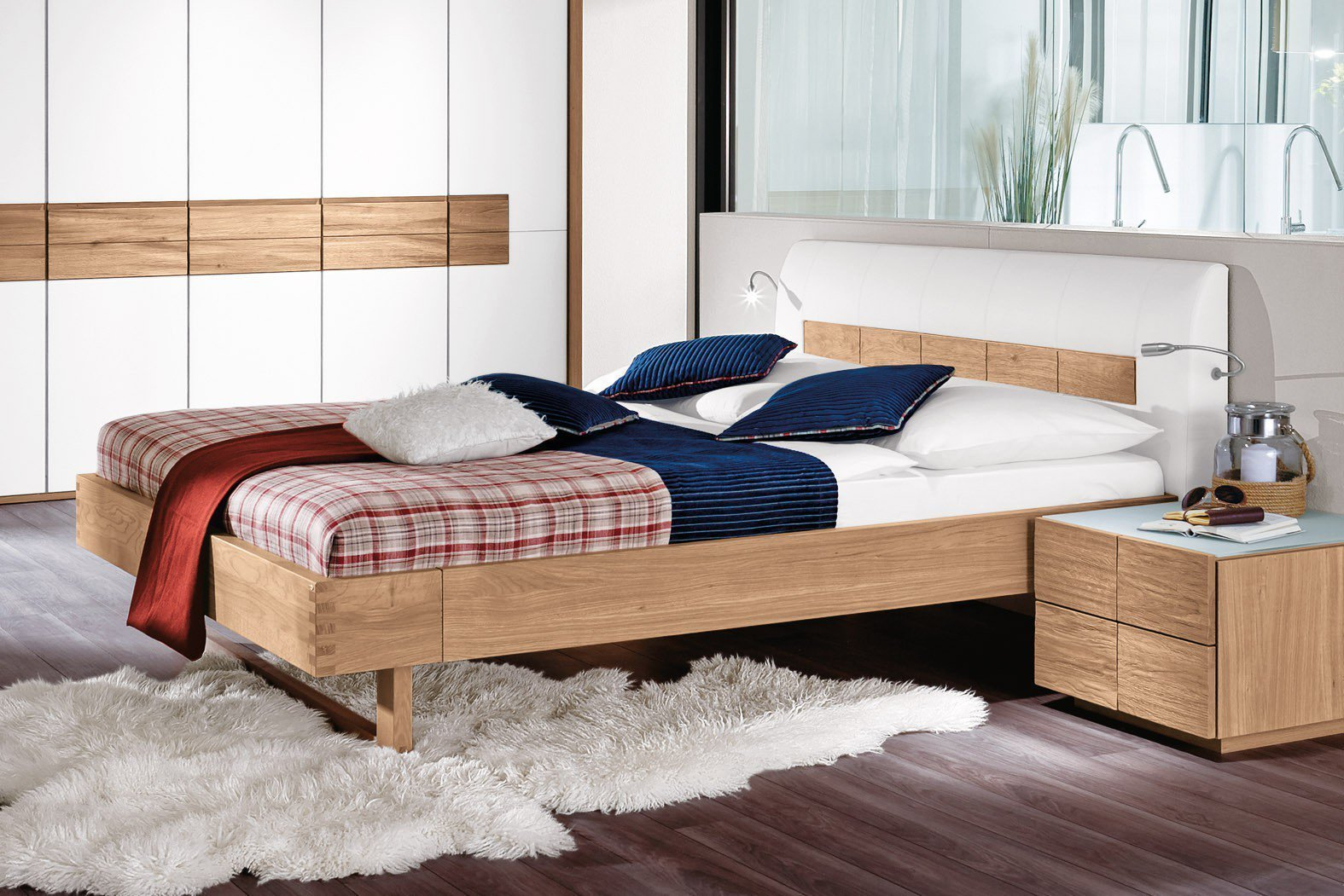 voglauer v rivera holzbett wildeiche ge lt m bel letz ihr online shop. Black Bedroom Furniture Sets. Home Design Ideas