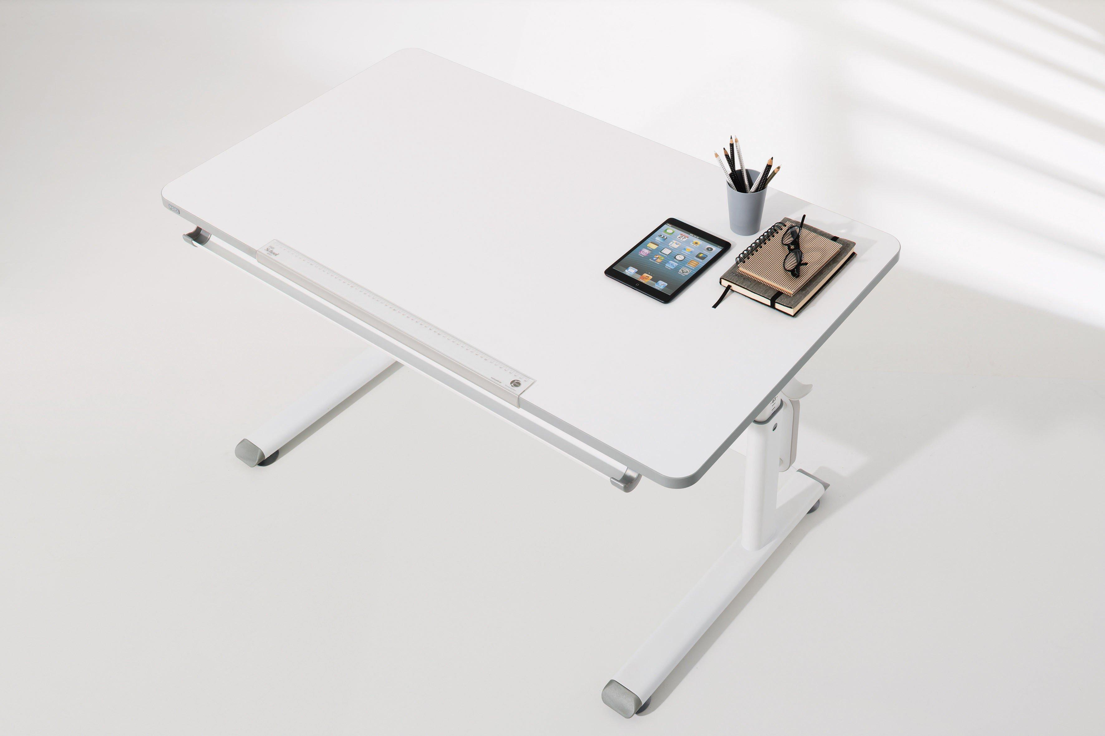 Paidi Diego 120 Schreibtisch Weiß Mit Neigbarer Platte Möbel