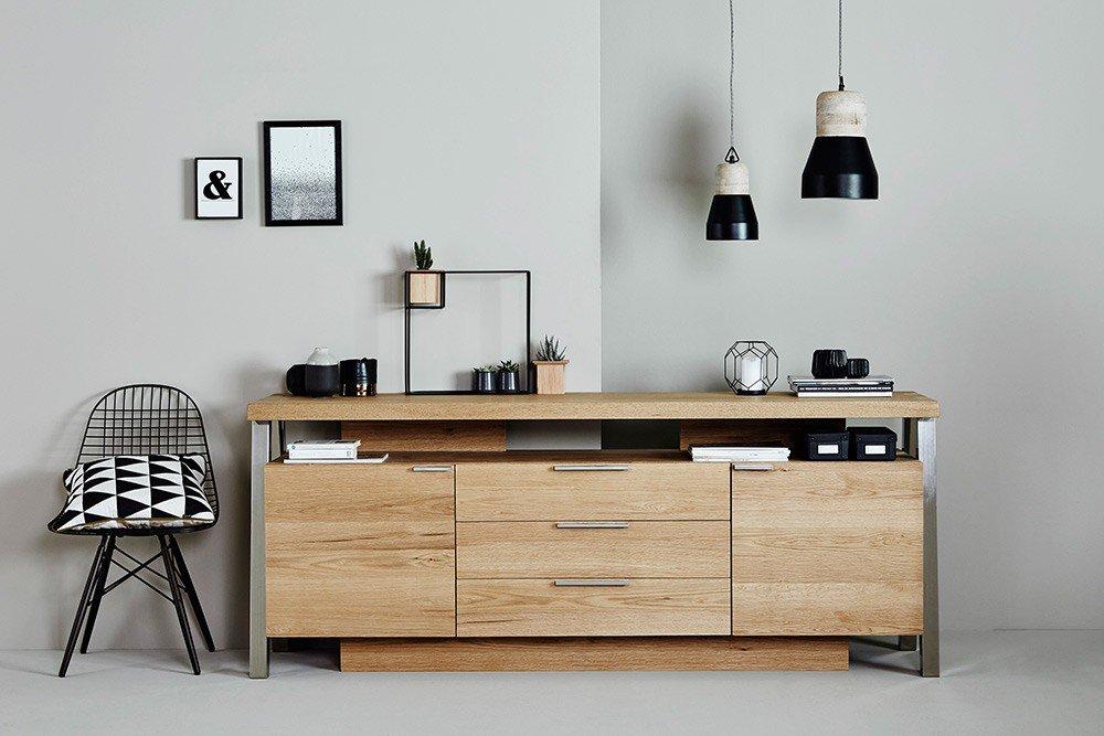 Jahnke Solid Sideboard Wildeiche | Möbel Letz - Ihr Online-Shop