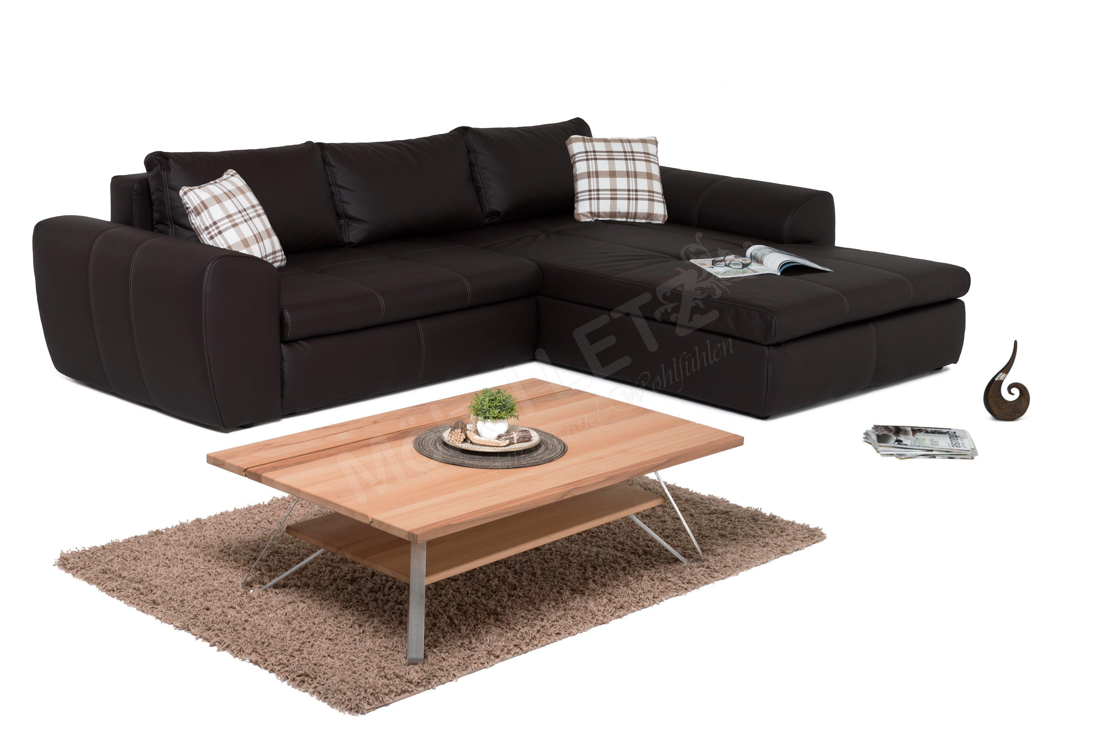 jockenh fer cascadeur polstergarnitur in braun m bel letz ihr online shop. Black Bedroom Furniture Sets. Home Design Ideas