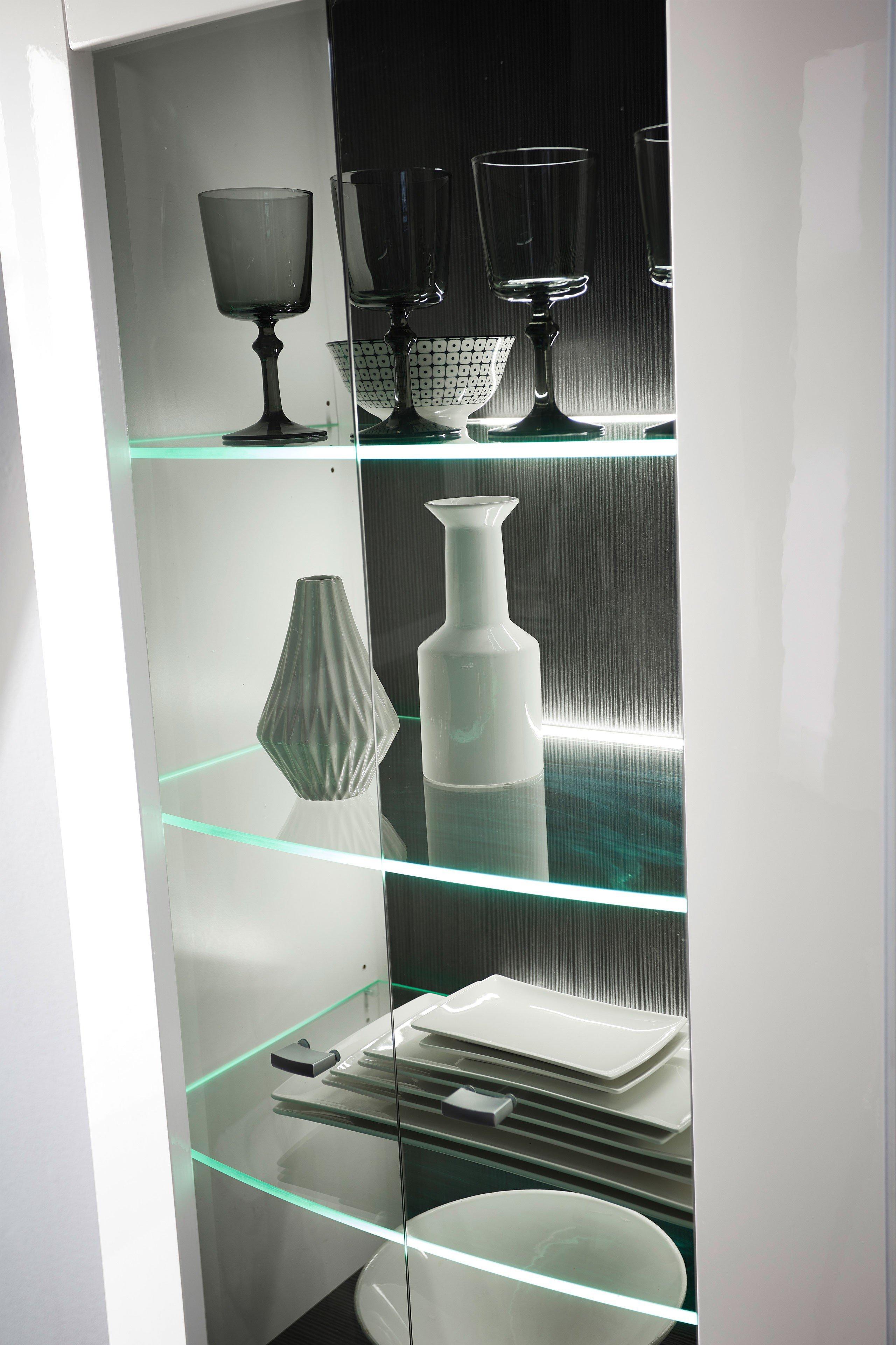 Bregenz Möbel wohn concept wohnwand bregenz weiß anthrazit möbel letz ihr shop