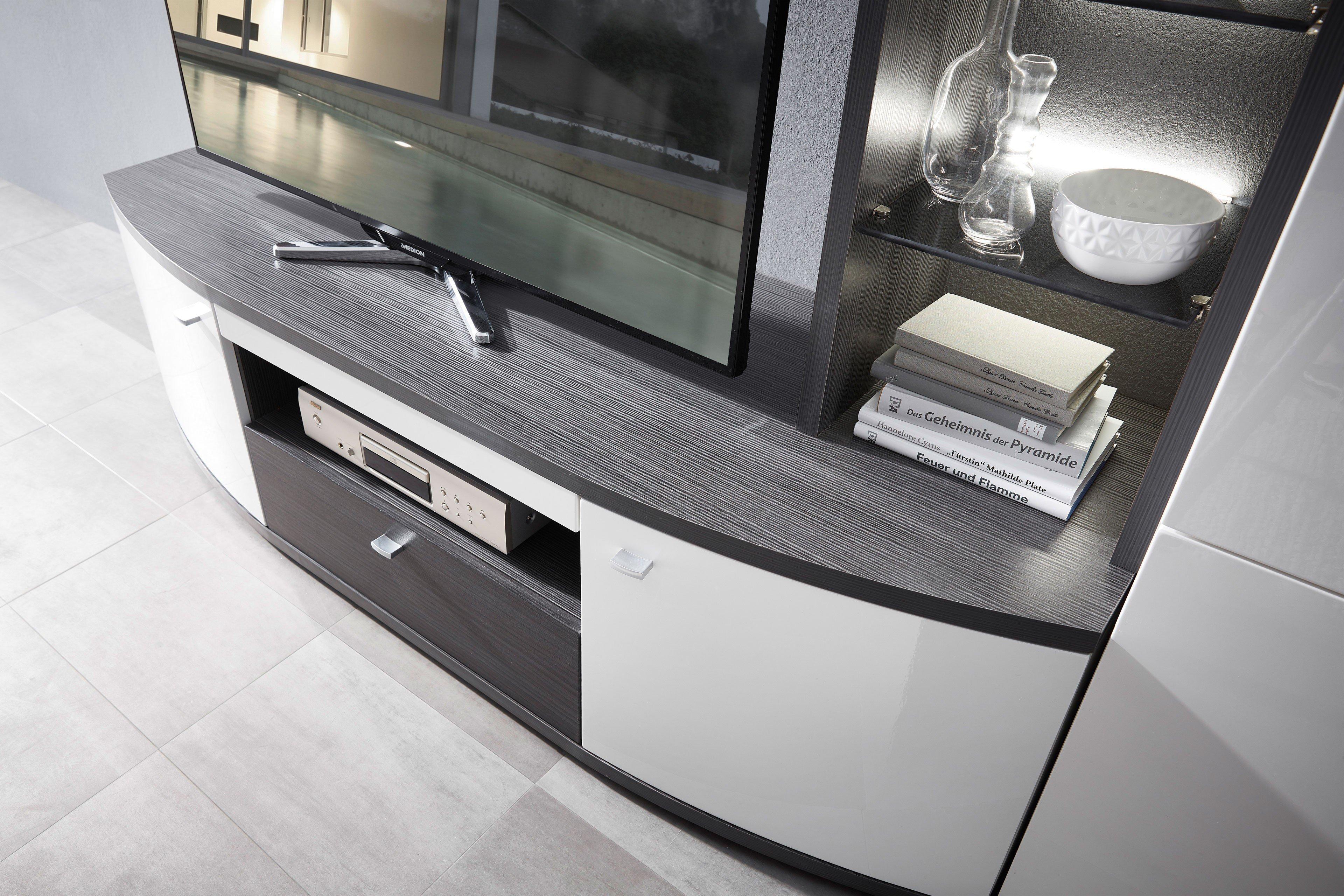 wohn concept wohnwand bregenz wei anthrazit m bel letz. Black Bedroom Furniture Sets. Home Design Ideas