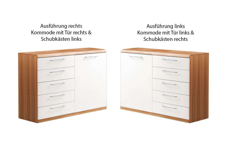 Disselkamp Comfort V Kombikommode Kernbuche Weiß Möbel Letz Ihr