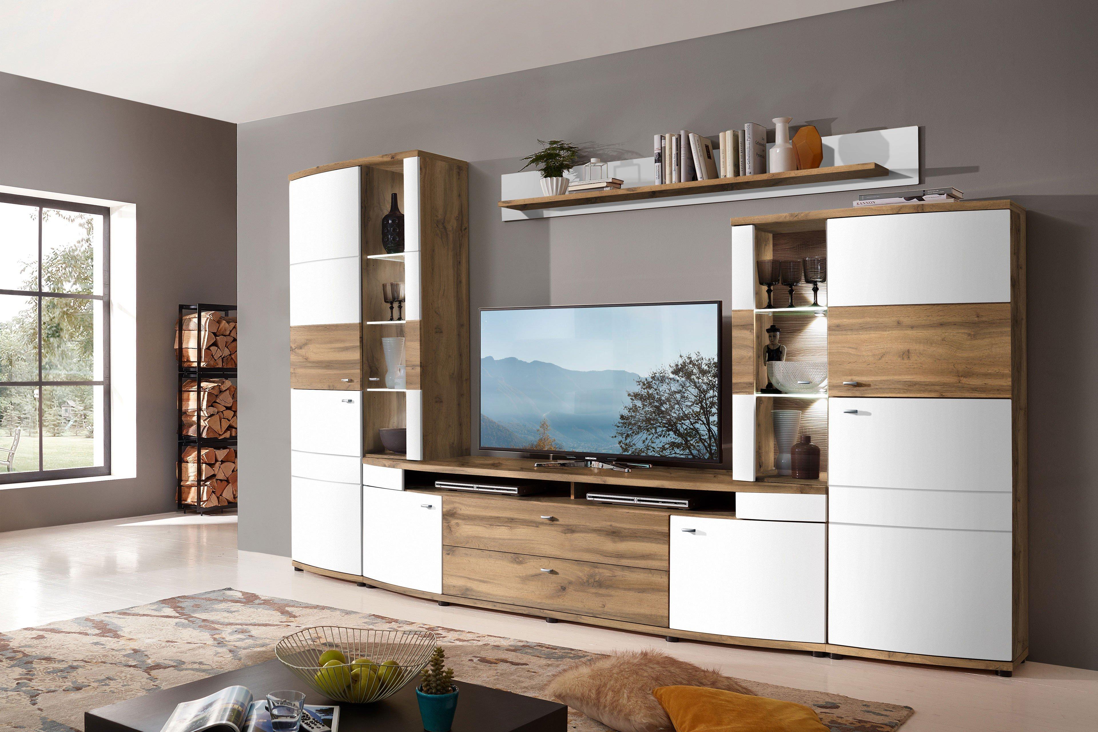 wohn concept wohnwand terra plus wei eiche altholz m bel letz ihr online shop. Black Bedroom Furniture Sets. Home Design Ideas