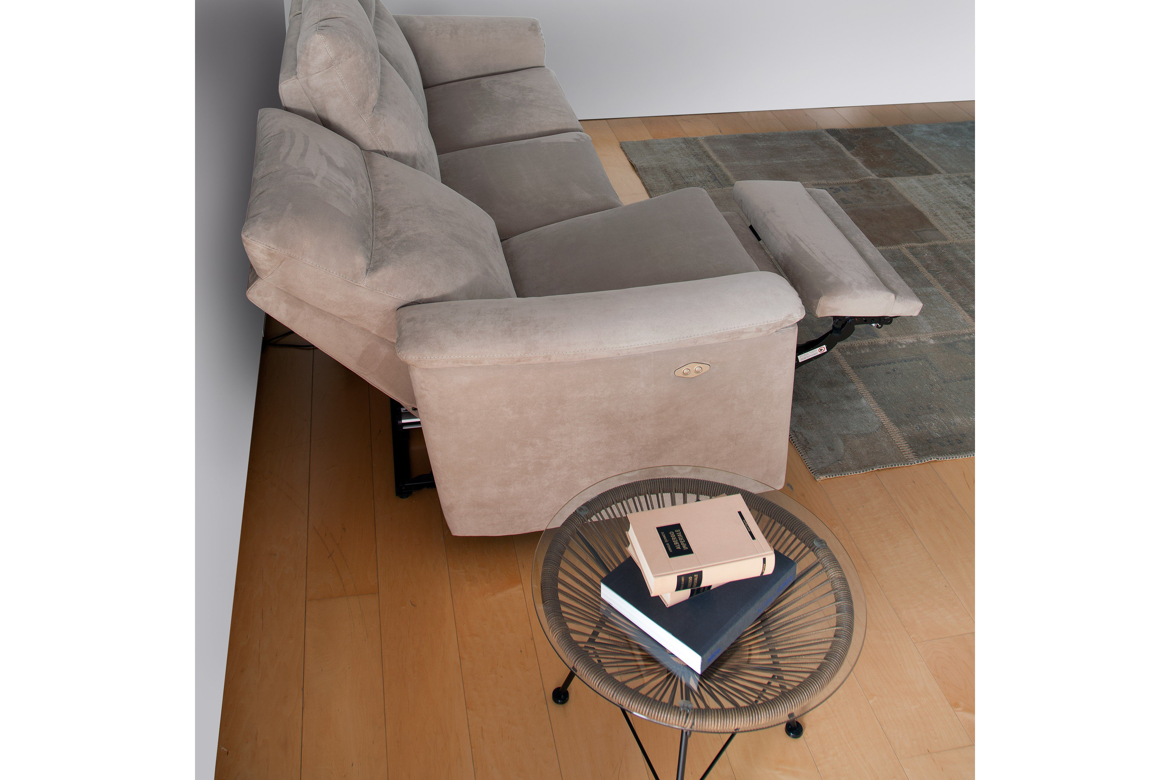 Calia Italia Procida Designersofa grau | Möbel Letz - Ihr Online-Shop